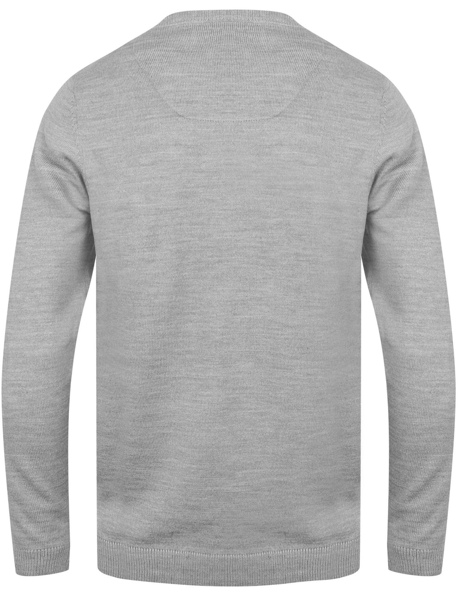 Kensington-Eastside-Men-039-s-Knitted-Crew-or-V-Neck-Jumper-Sweater-Top-Pullover thumbnail 35