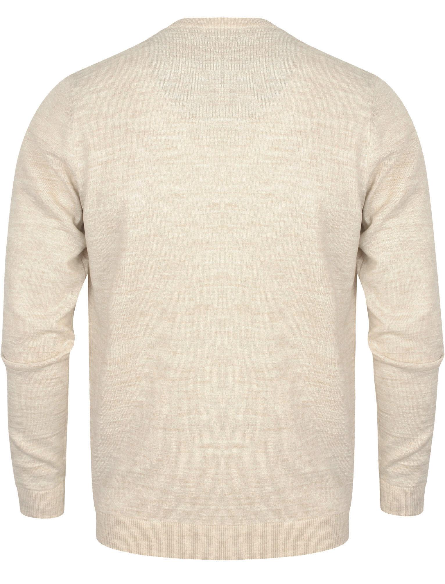 Kensington-Eastside-Men-039-s-Wool-Blend-Knitted-Crew-or-V-Neck-Jumper-Sweater-Top thumbnail 47