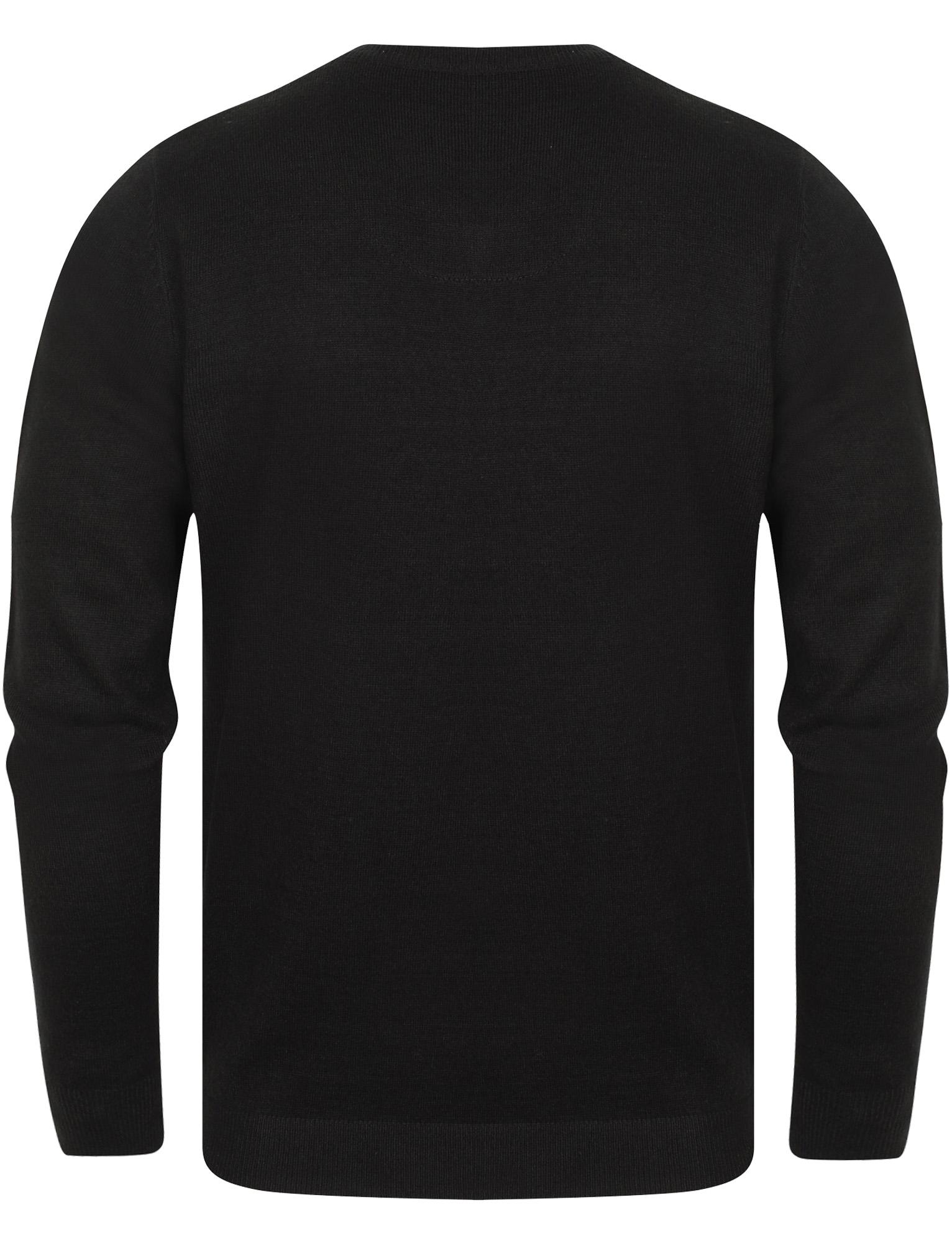 Kensington-Eastside-Men-039-s-Wool-Blend-Knitted-Crew-or-V-Neck-Jumper-Sweater-Top thumbnail 43