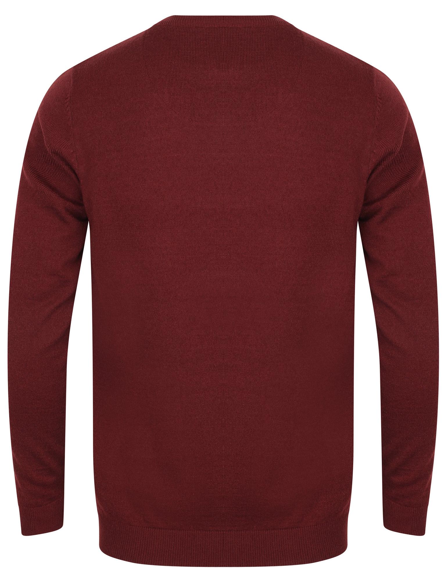 Kensington-Eastside-Men-039-s-Wool-Blend-Knitted-Crew-or-V-Neck-Jumper-Sweater-Top thumbnail 15