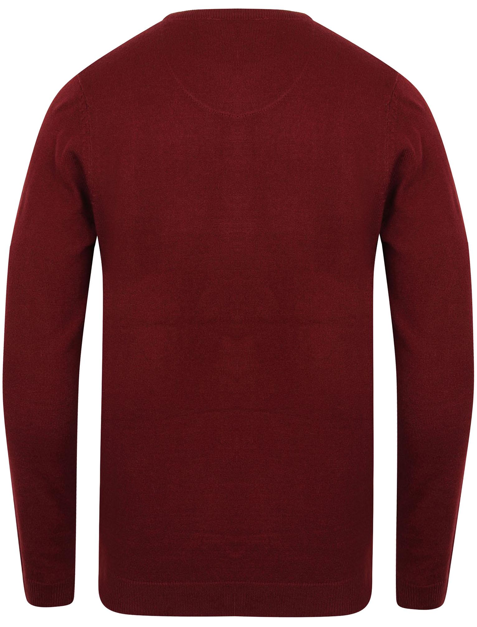 Kensington-Eastside-Men-039-s-Knitted-Crew-or-V-Neck-Jumper-Sweater-Top-Pullover thumbnail 29