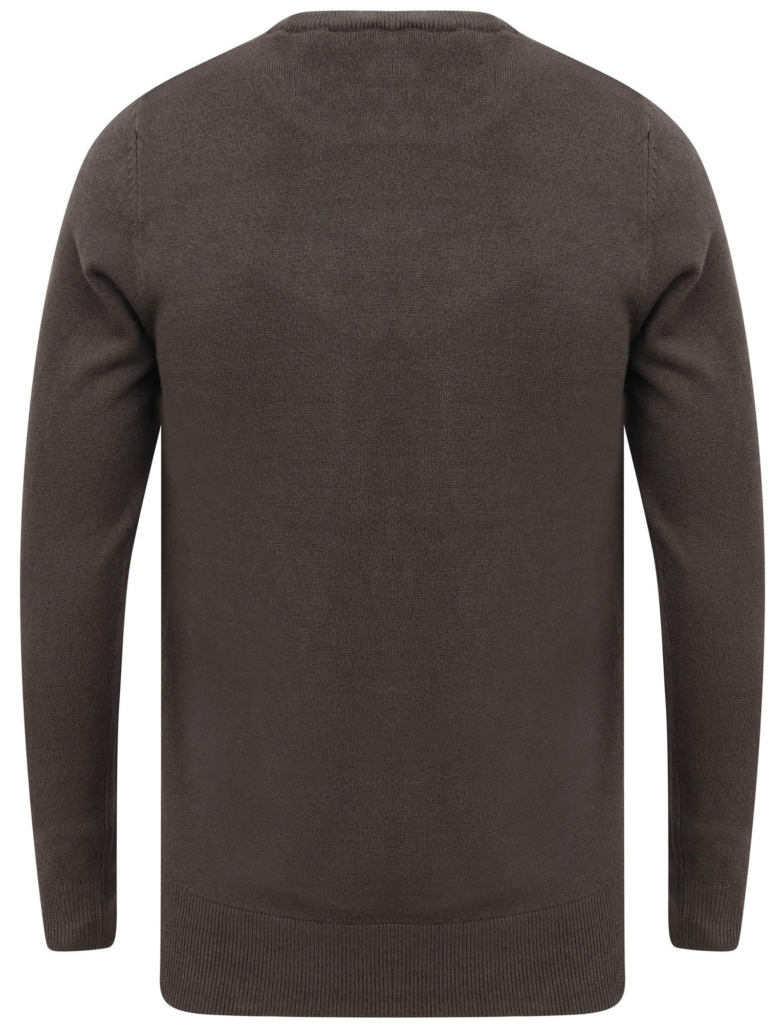 Kensington-Eastside-Men-039-s-Knitted-Crew-or-V-Neck-Jumper-Sweater-Top-Pullover thumbnail 79