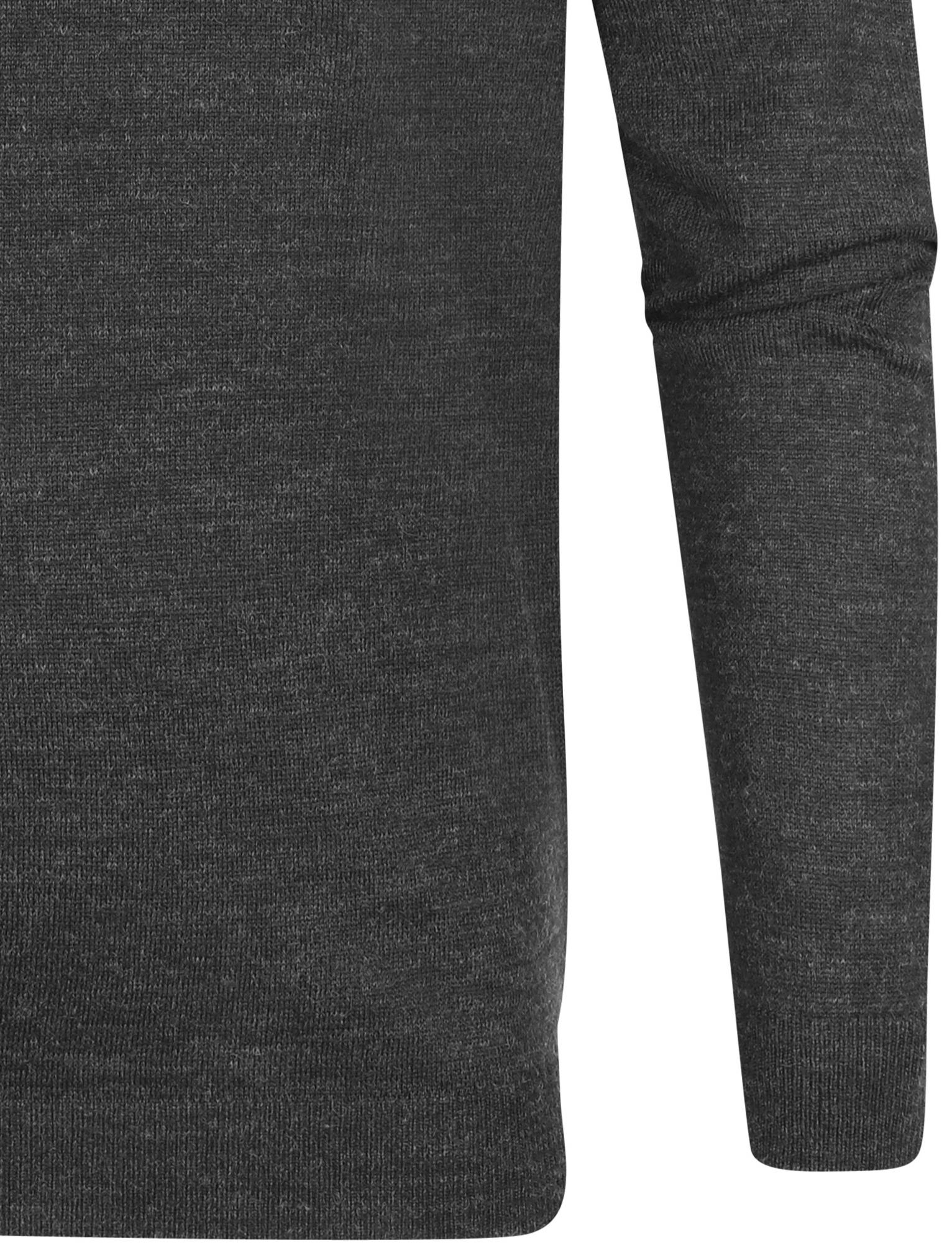 Kensington-Eastside-Men-039-s-Wool-Blend-Knitted-Crew-or-V-Neck-Jumper-Sweater-Top thumbnail 33