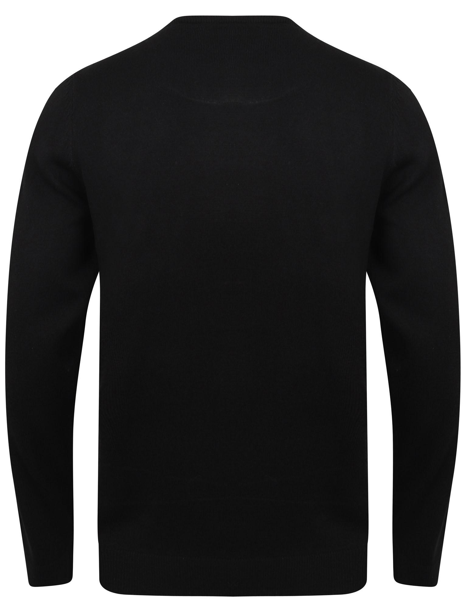 Kensington-Eastside-Men-039-s-Knitted-Crew-or-V-Neck-Jumper-Sweater-Top-Pullover thumbnail 19