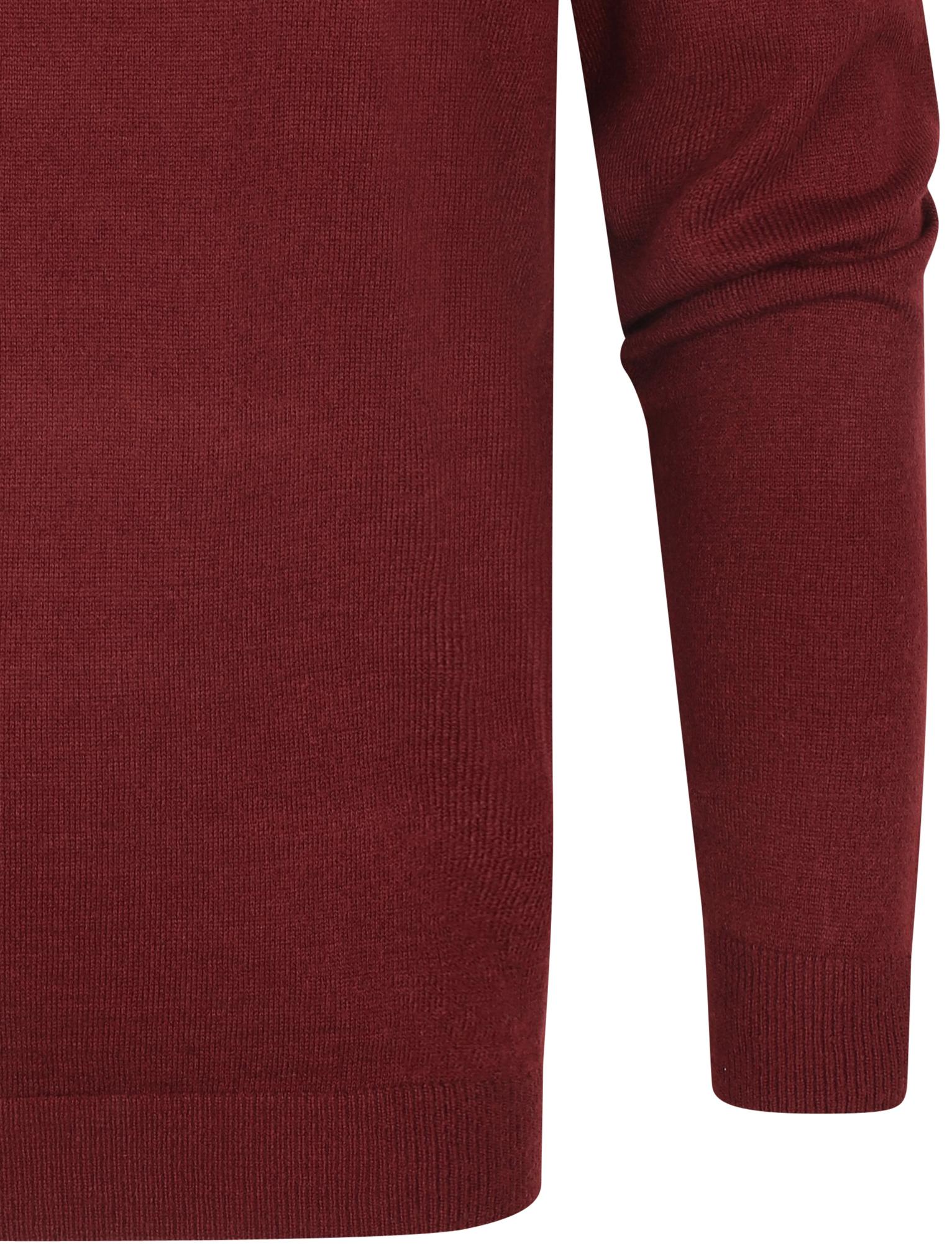 Kensington-Eastside-Men-039-s-Wool-Blend-Knitted-Crew-or-V-Neck-Jumper-Sweater-Top thumbnail 17