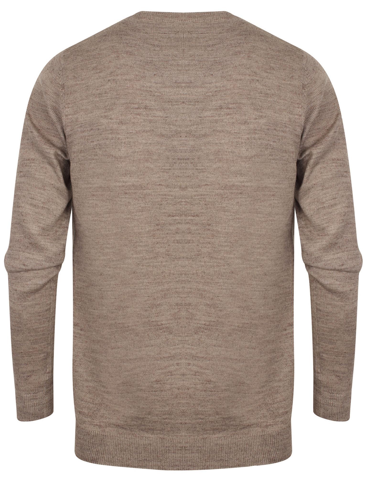 Kensington-Eastside-Men-039-s-Knitted-Crew-or-V-Neck-Jumper-Sweater-Top-Pullover thumbnail 15