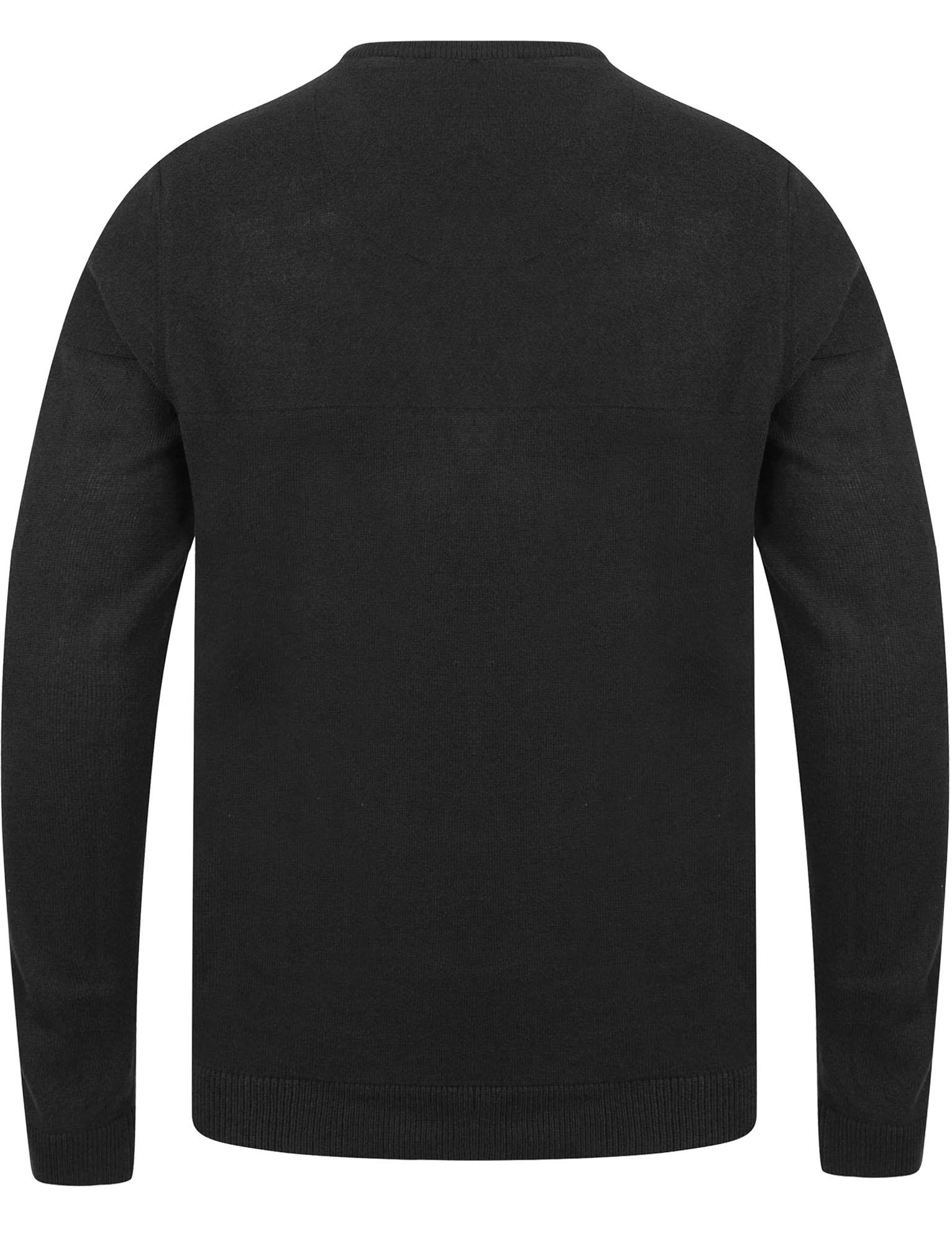 Kensington-Eastside-Men-039-s-Knitted-Crew-or-V-Neck-Jumper-Sweater-Top-Pullover thumbnail 43