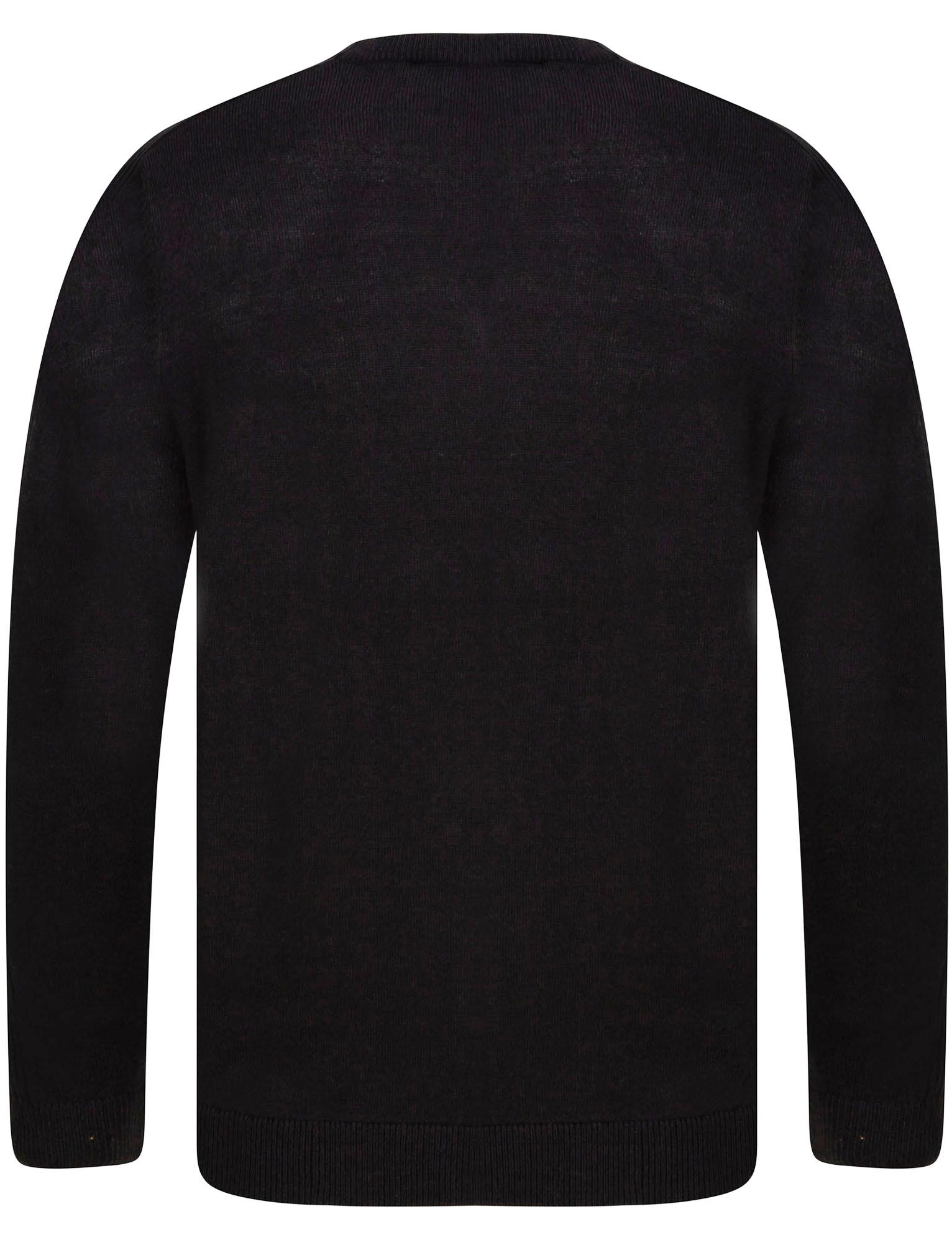 Kensington-Eastside-Men-039-s-Knitted-Crew-or-V-Neck-Jumper-Sweater-Top-Pullover thumbnail 65