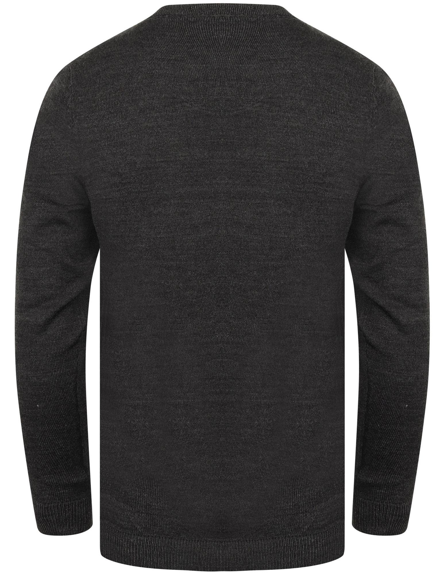 Kensington-Eastside-Men-039-s-Knitted-Crew-or-V-Neck-Jumper-Sweater-Top-Pullover thumbnail 31