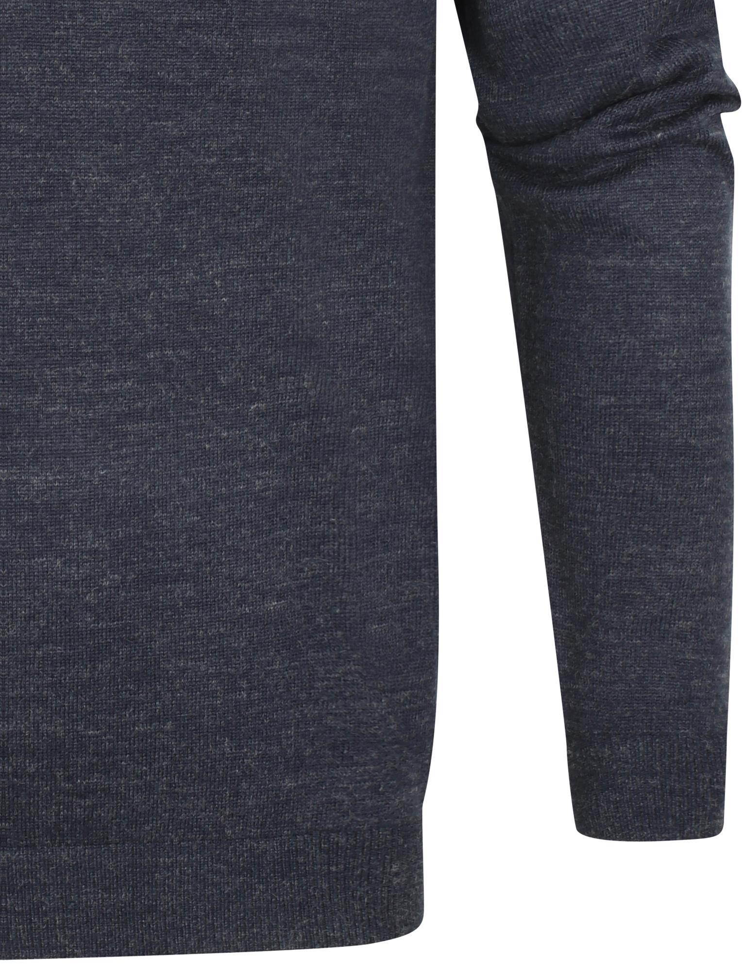 Kensington-Eastside-Men-039-s-Wool-Blend-Knitted-Crew-or-V-Neck-Jumper-Sweater-Top thumbnail 25