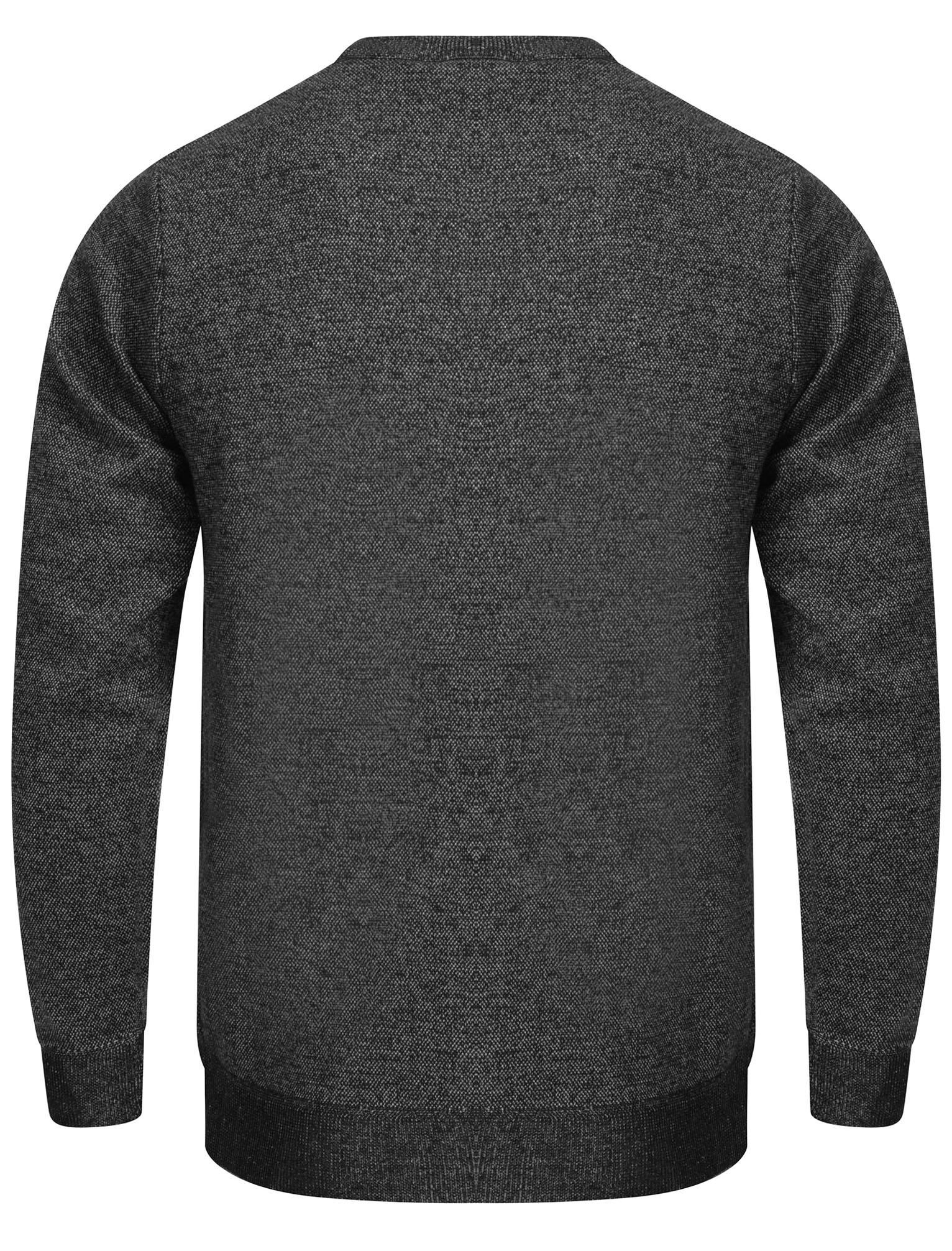 Kensington-Eastside-Men-039-s-Knitted-Crew-or-V-Neck-Jumper-Sweater-Top-Pullover thumbnail 56