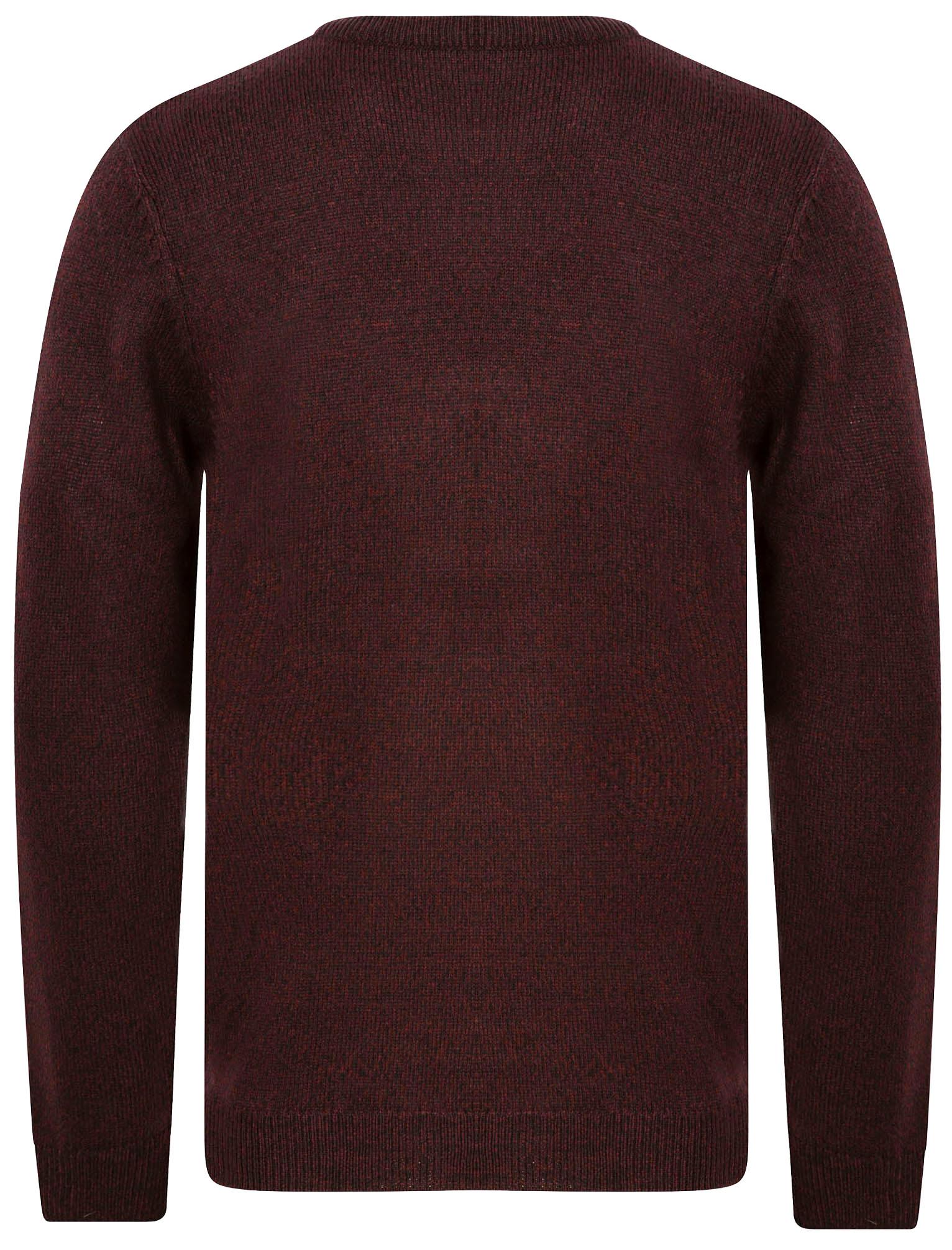 Kensington-Eastside-Men-039-s-Knitted-Crew-or-V-Neck-Jumper-Sweater-Top-Pullover thumbnail 90