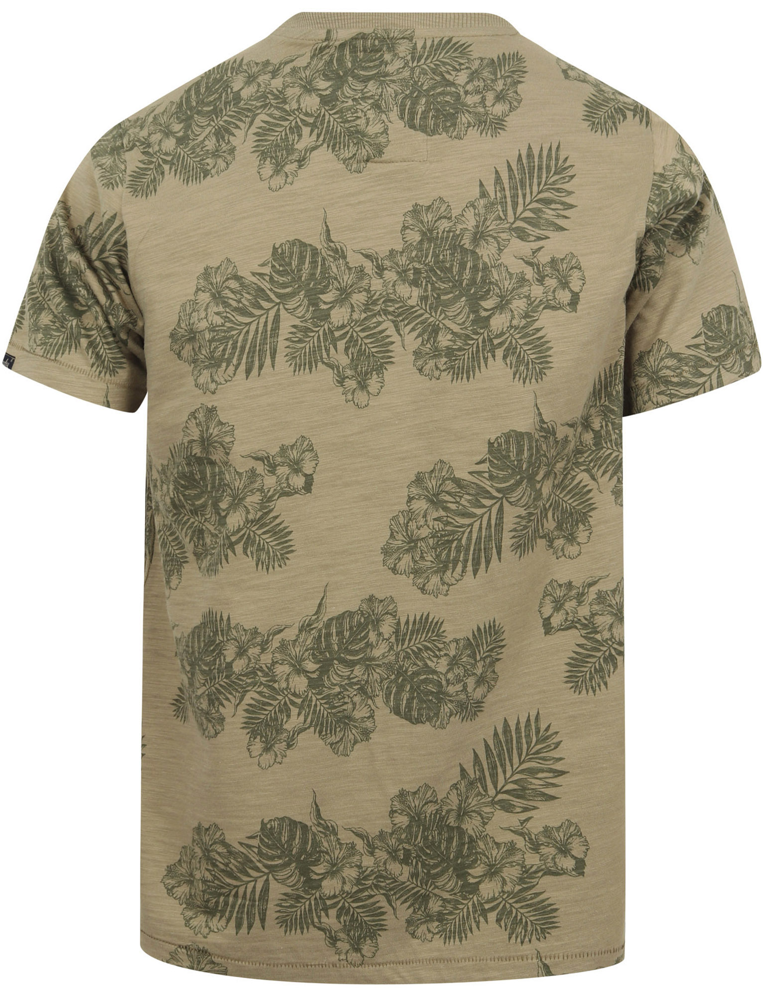 thumbnail 7 - Tokyo-Laundry-Tropical-Print-Crew-Neck-T-Shirt-Hawaiian-Floral-Summer-Holiday
