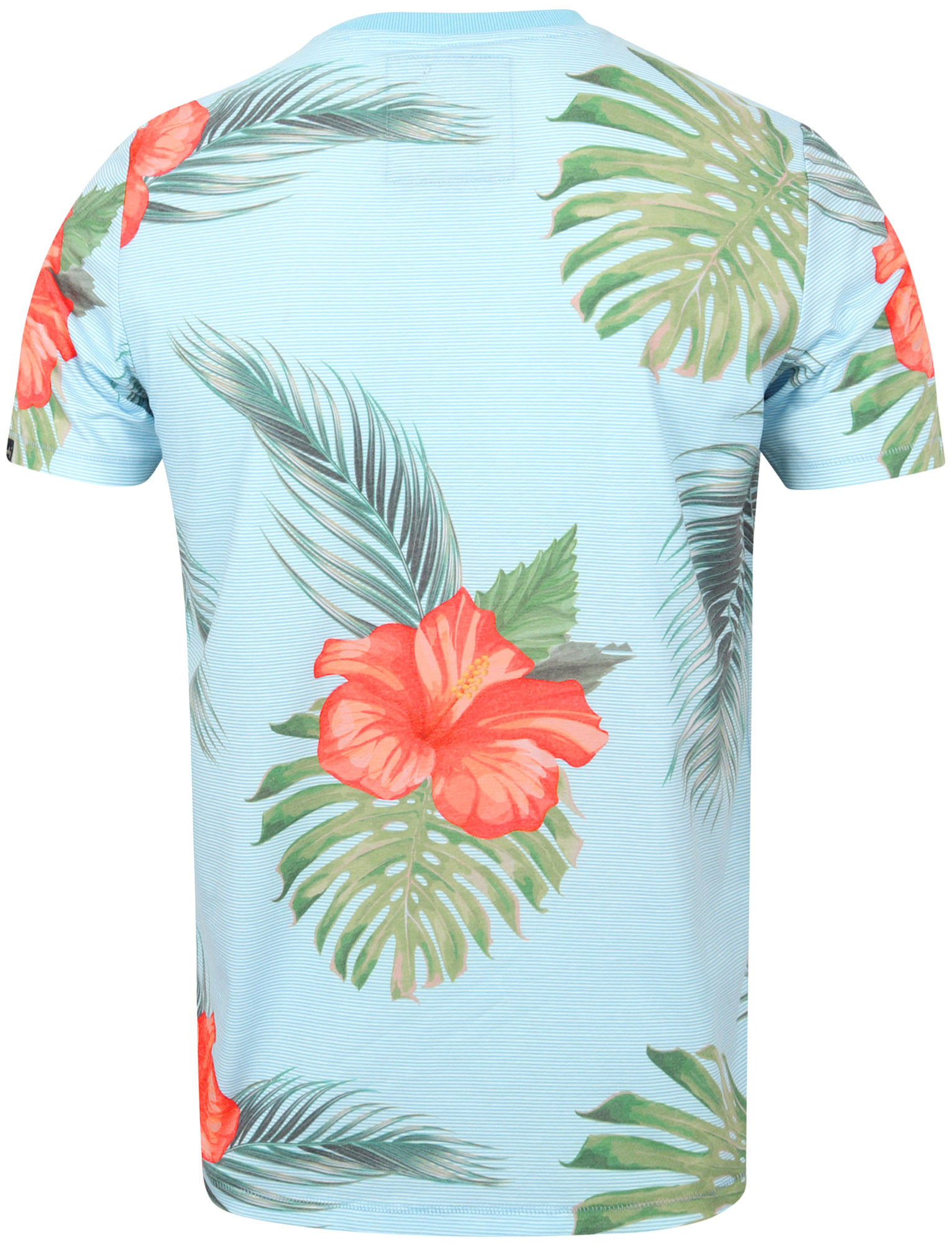 Tokyo-Laundry-Tropical-Print-Crew-Neck-T-Shirt-Hawaiian-Floral-Summer-Holiday thumbnail 29