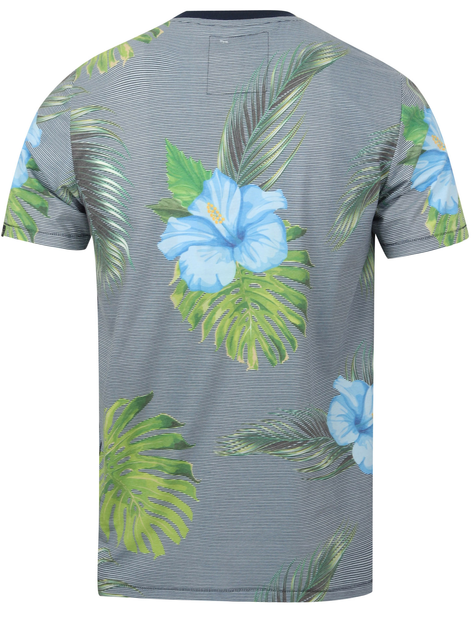 thumbnail 28 - Tokyo-Laundry-Tropical-Print-Crew-Neck-T-Shirt-Hawaiian-Floral-Summer-Holiday