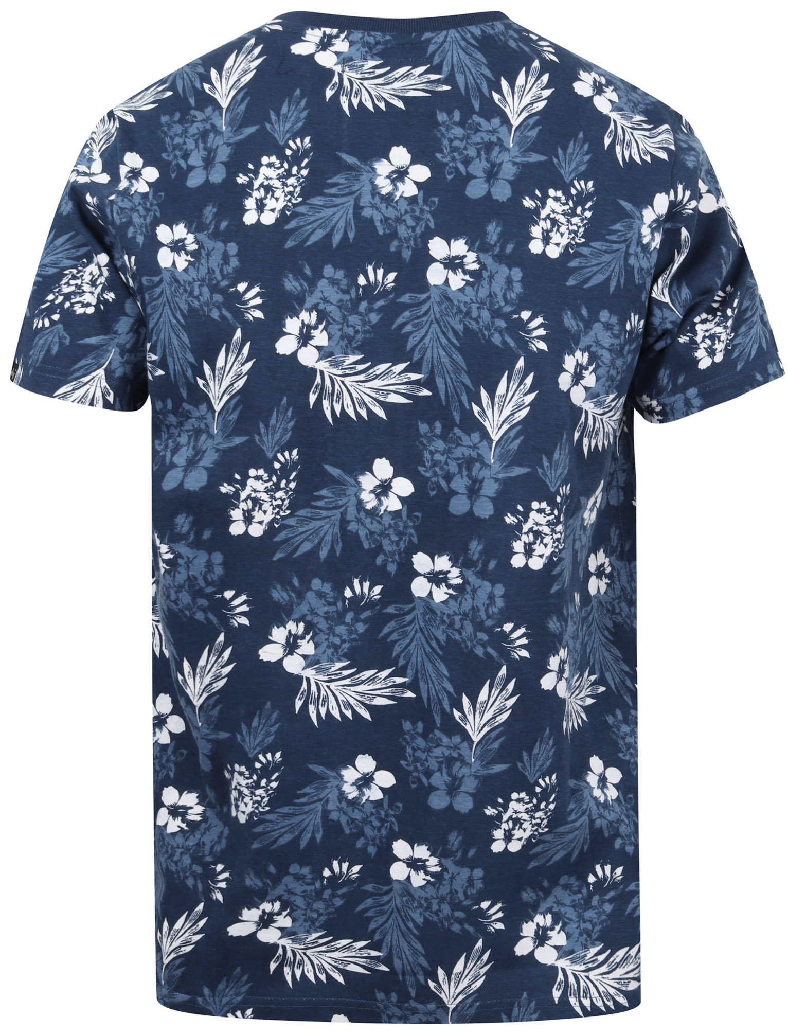 Tokyo-Laundry-Tropical-Print-Crew-Neck-T-Shirt-Hawaiian-Floral-Summer-Holiday thumbnail 38