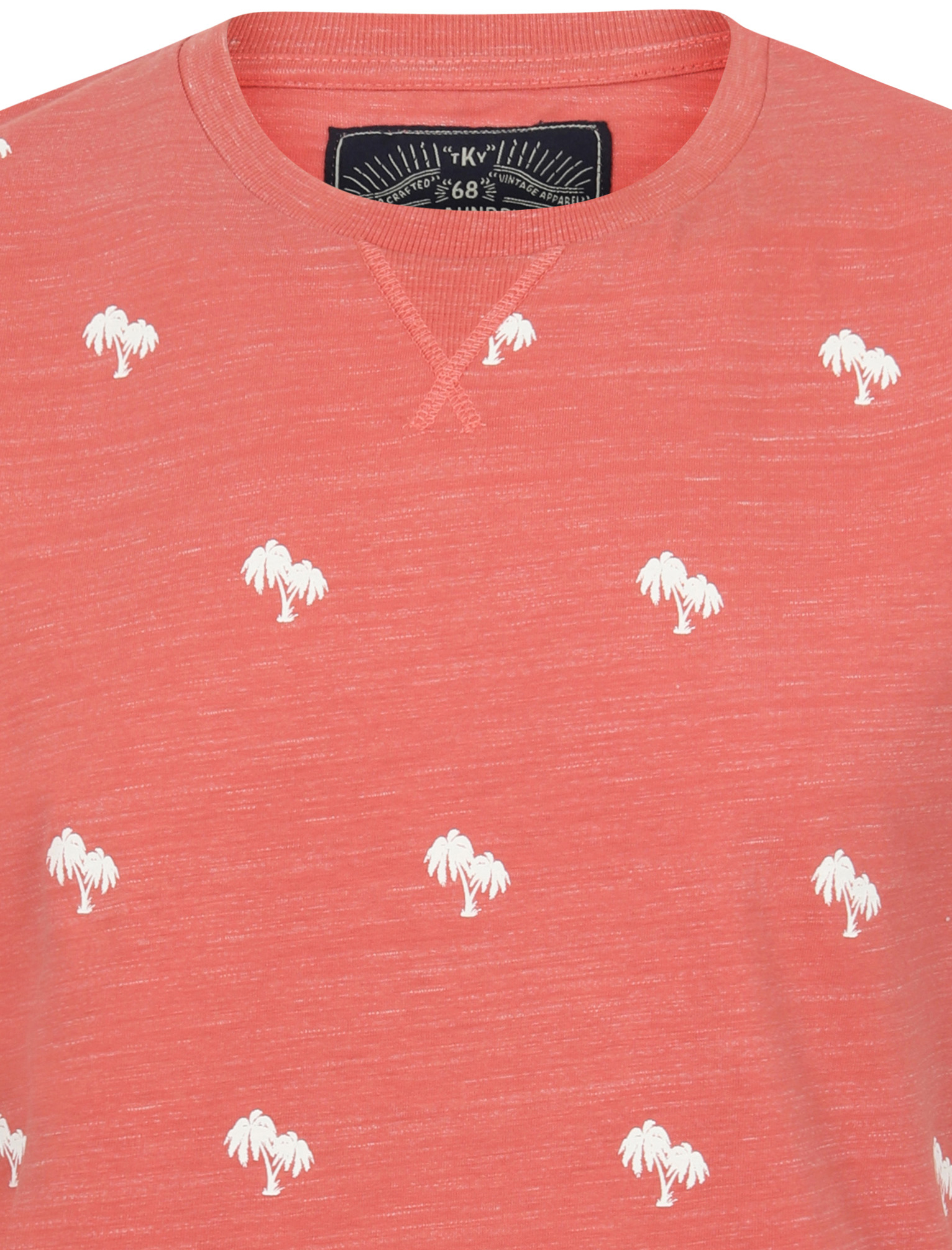 thumbnail 45 - Tokyo-Laundry-Tropical-Print-Crew-Neck-T-Shirt-Hawaiian-Floral-Summer-Holiday