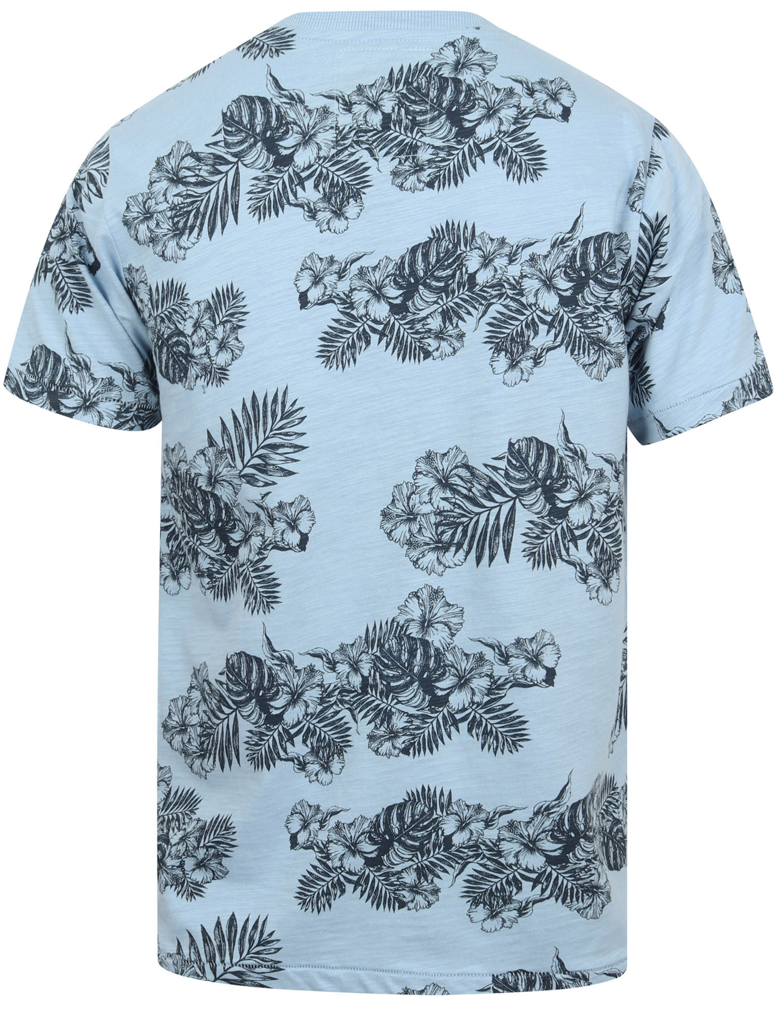 thumbnail 11 - Tokyo-Laundry-Tropical-Print-Crew-Neck-T-Shirt-Hawaiian-Floral-Summer-Holiday