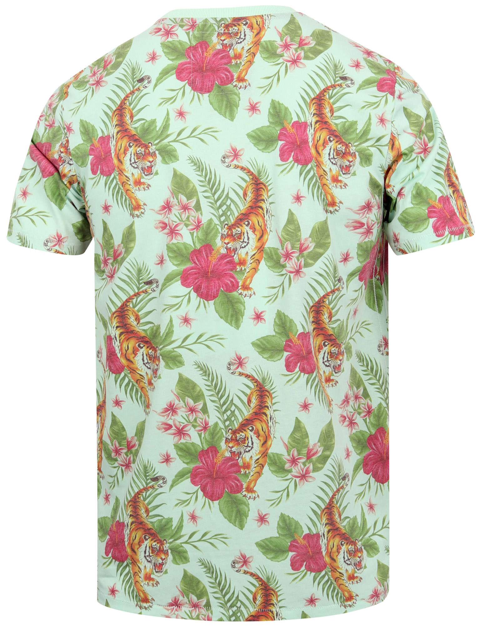 Tokyo-Laundry-Tropical-Print-Crew-Neck-T-Shirt-Hawaiian-Floral-Summer-Holiday thumbnail 21