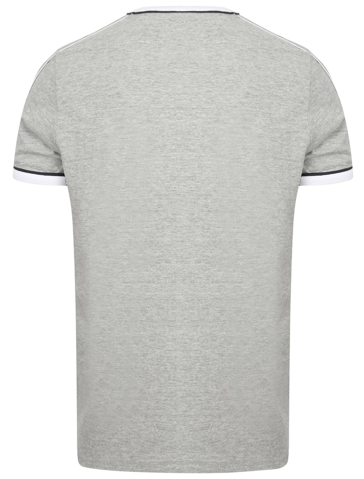 New-Mens-Tokyo-Laundry-Huson-Contrast-Crew-Neck-Cotton-Rich-T-Shirt-Size-S-XXL thumbnail 5