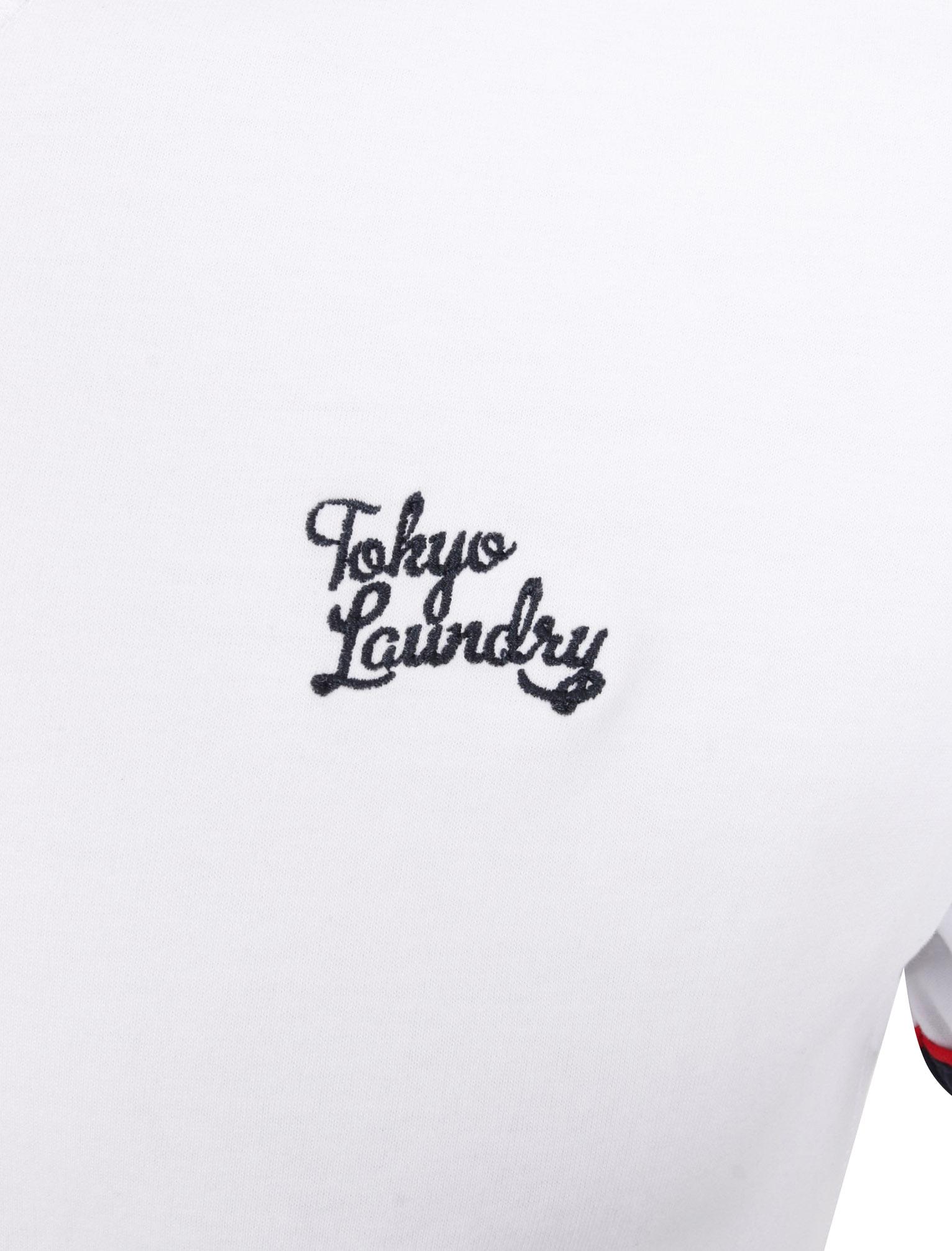 New-Mens-Tokyo-Laundry-Huson-Contrast-Crew-Neck-Cotton-Rich-T-Shirt-Size-S-XXL thumbnail 16