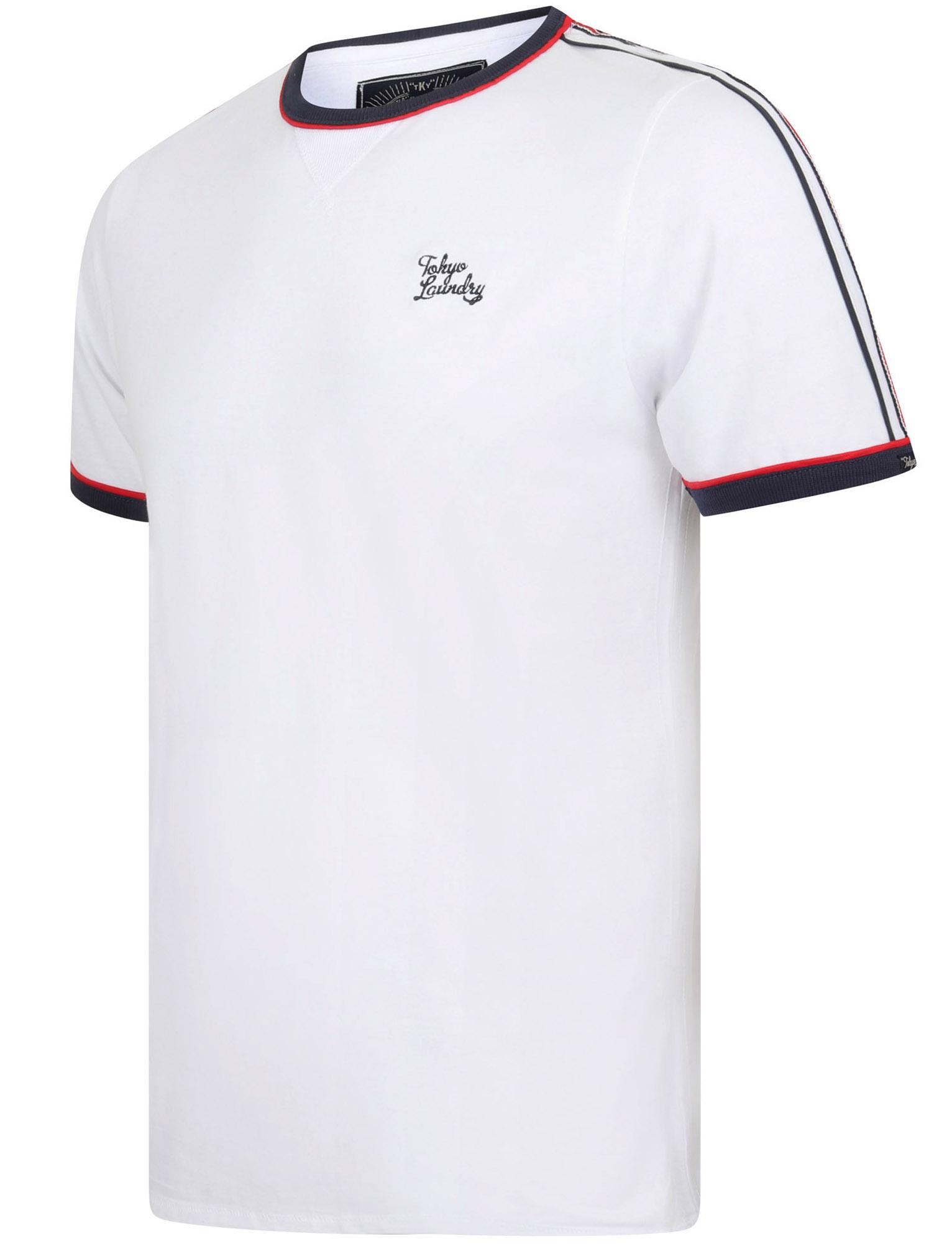 New-Mens-Tokyo-Laundry-Huson-Contrast-Crew-Neck-Cotton-Rich-T-Shirt-Size-S-XXL thumbnail 15