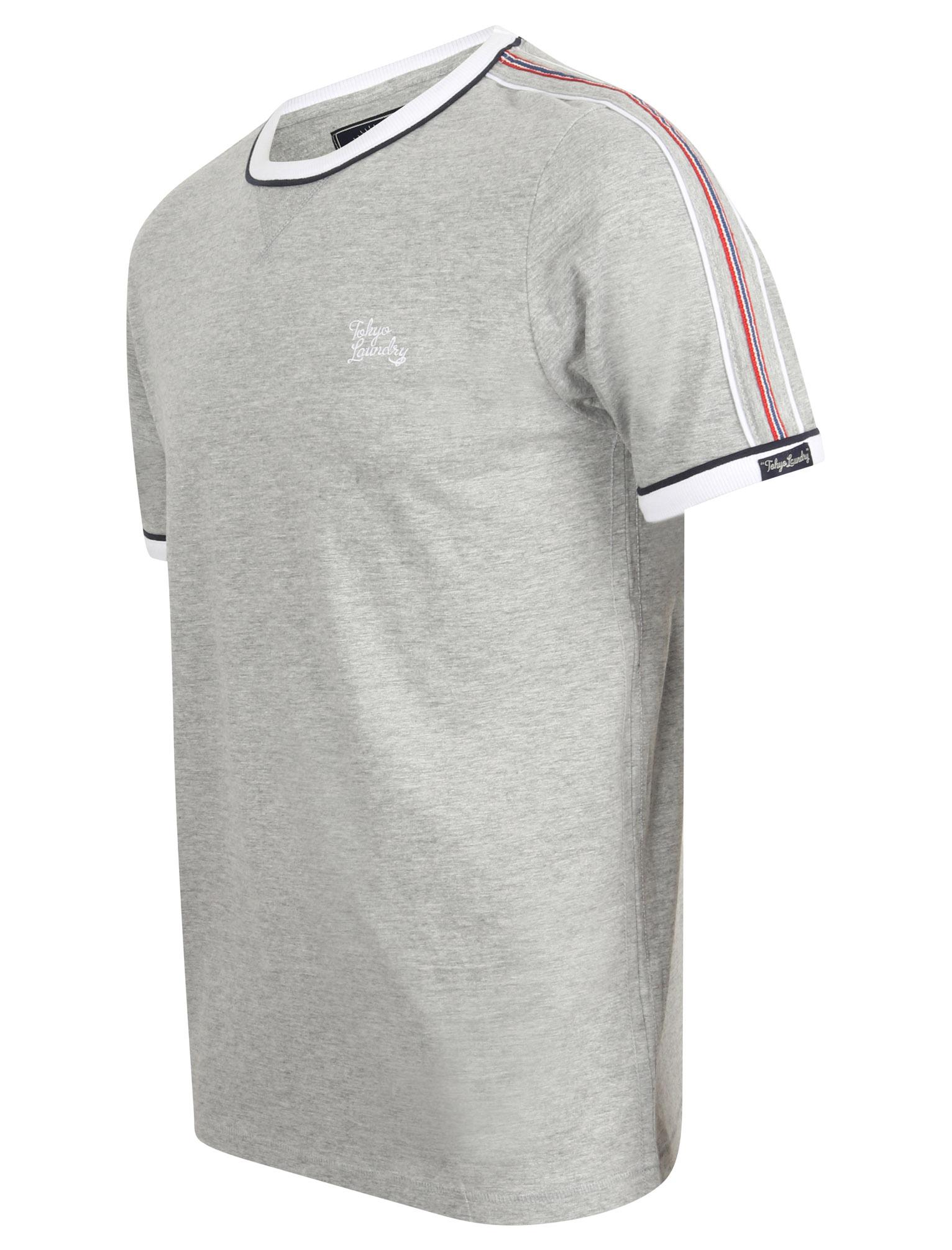 New-Mens-Tokyo-Laundry-Huson-Contrast-Crew-Neck-Cotton-Rich-T-Shirt-Size-S-XXL thumbnail 3