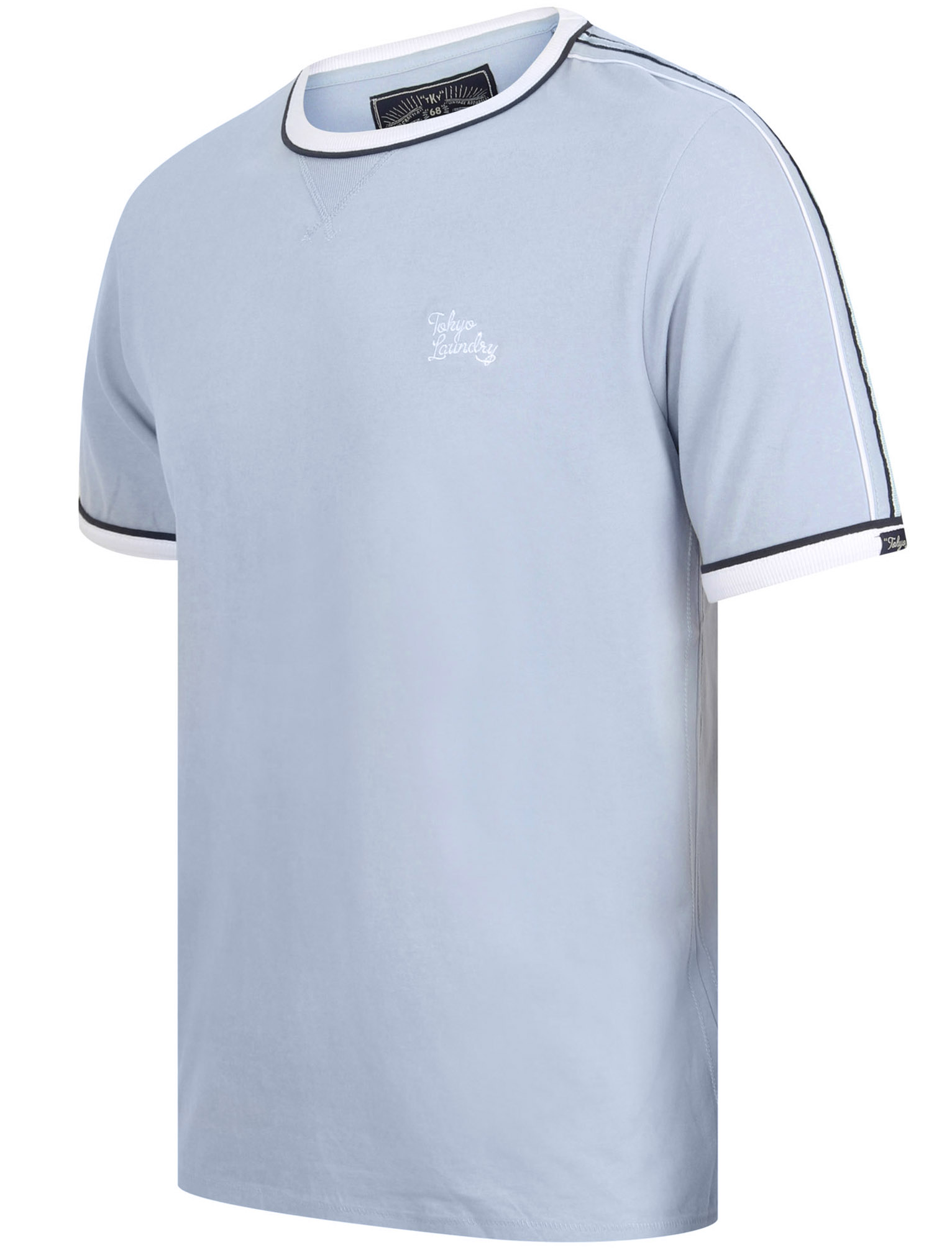 New-Mens-Tokyo-Laundry-Huson-Contrast-Crew-Neck-Cotton-Rich-T-Shirt-Size-S-XXL thumbnail 11