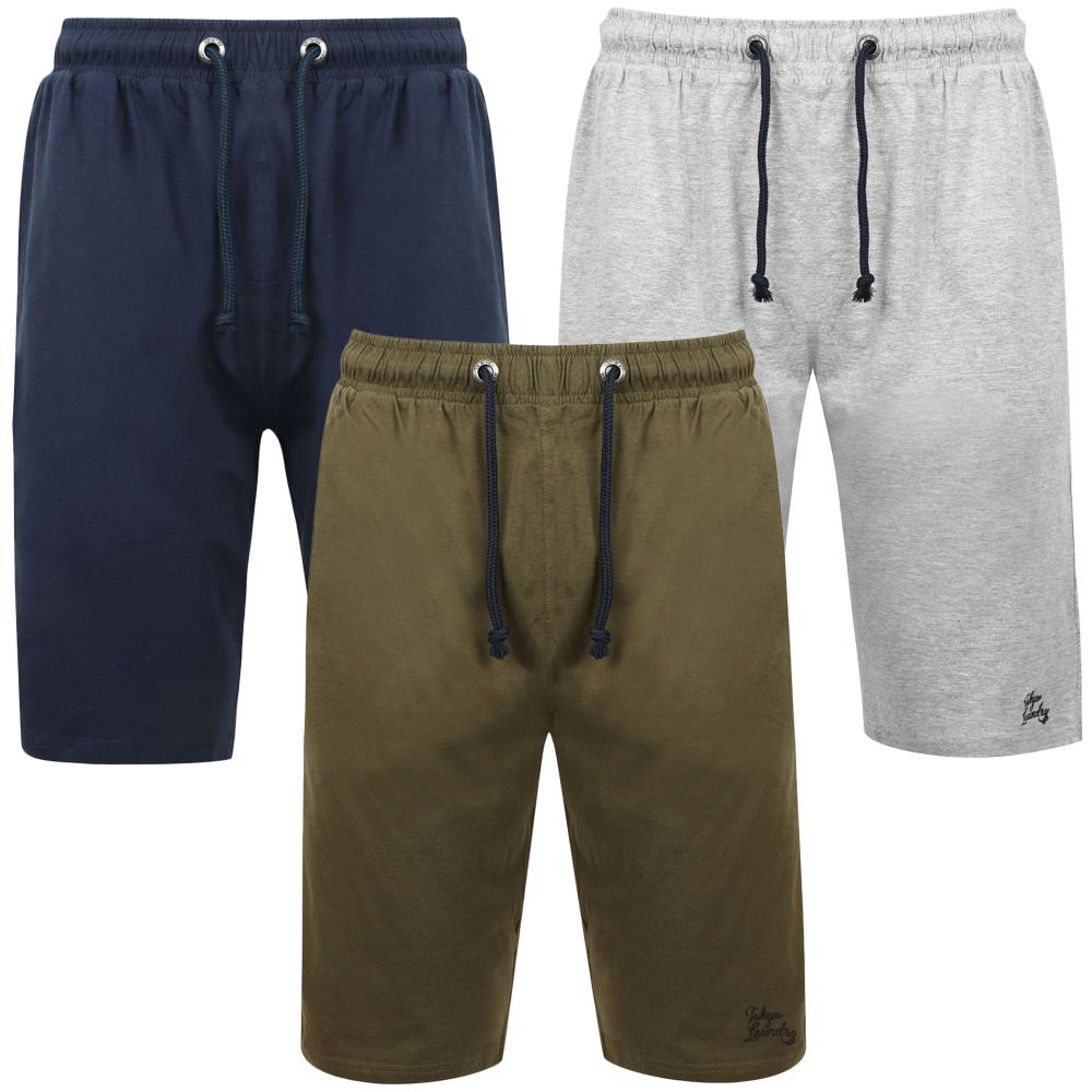 Tokyo Laundry Checked Lounge Shorts PJ Pyjama Bottoms Nightwear Elastic Waist