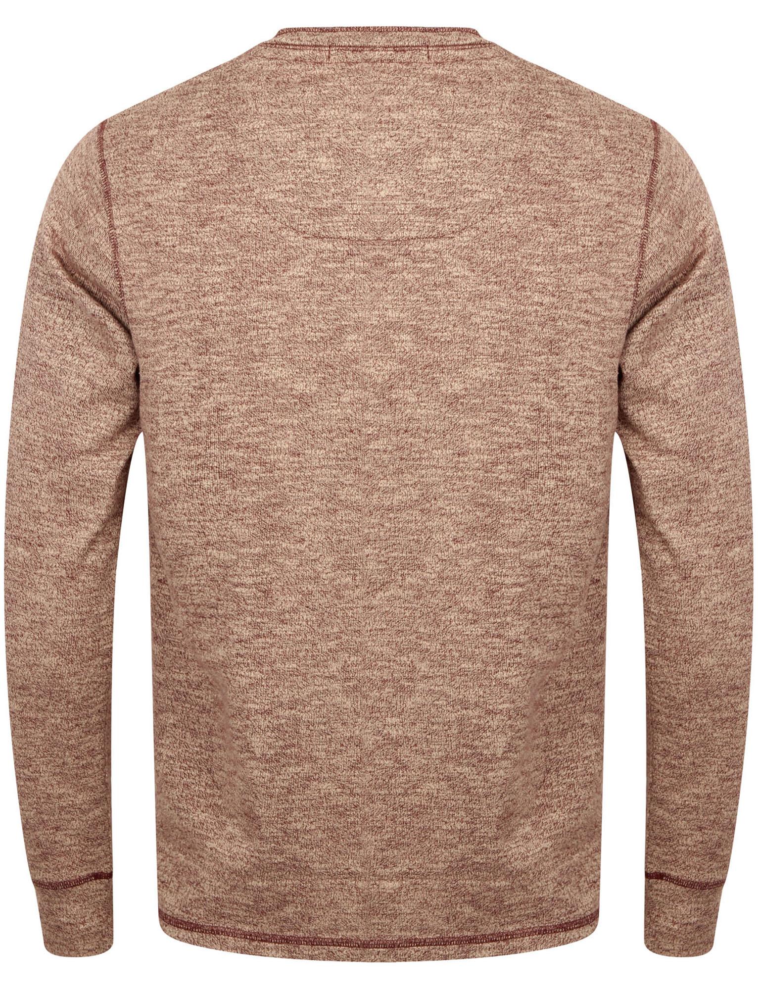 NUOVI-Pantaloncini-Uomo-Tokyo-Laundry-ROOSEVELT-T-shirt-A-Maniche-Lunghe-Henley-Taglia-S-XL