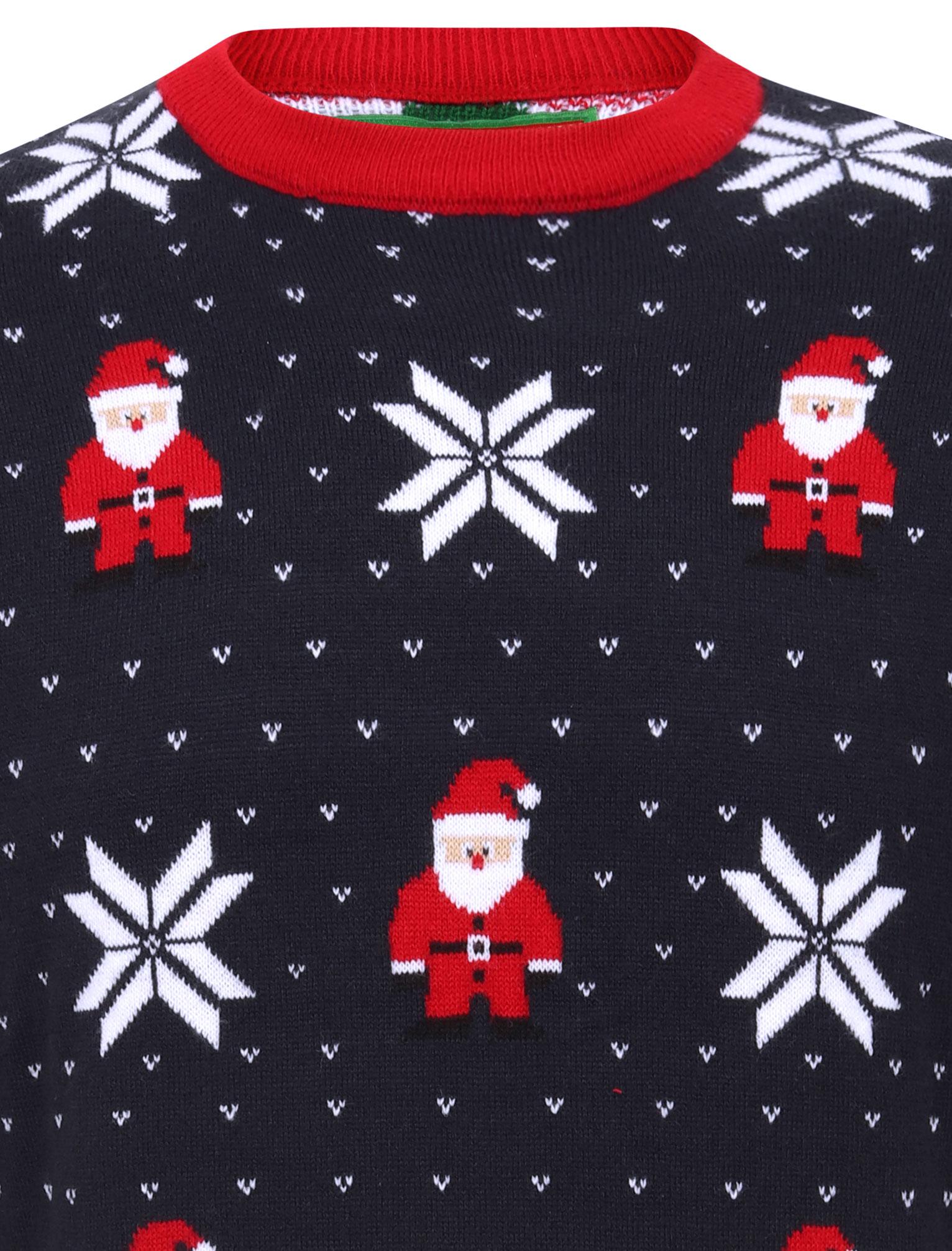 Feliz-Navidad-Para-Hombre-Novedad-Navidad-Sueter-Santa-Elfo-Reno-divertido-Cerveza miniatura 71