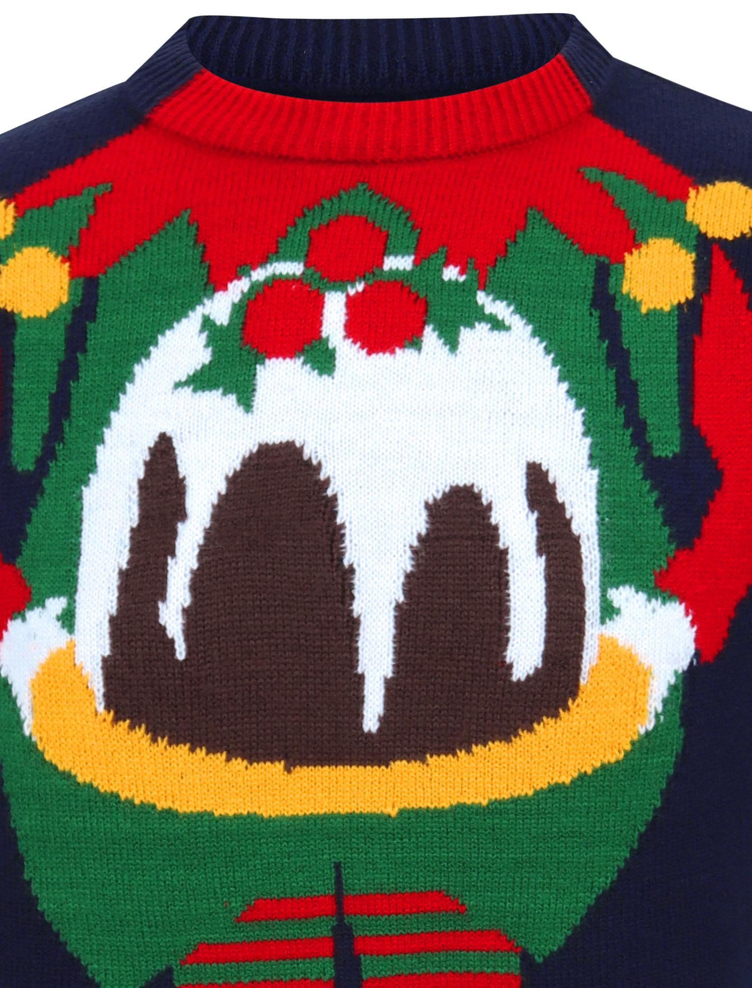 Feliz-Navidad-Para-Hombre-Novedad-Navidad-Sueter-Santa-Elfo-Reno-divertido-Cerveza miniatura 84