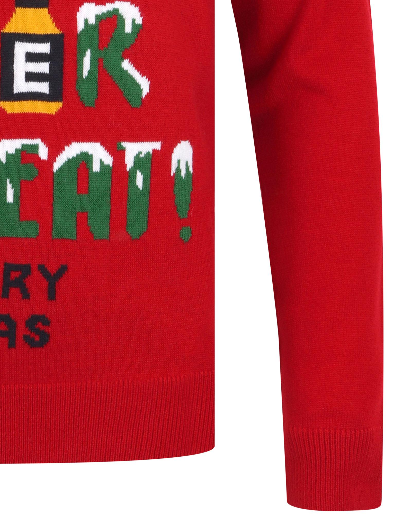 Feliz-Navidad-Para-Hombre-Novedad-Navidad-Sueter-Santa-Elfo-Reno-divertido-Cerveza miniatura 35