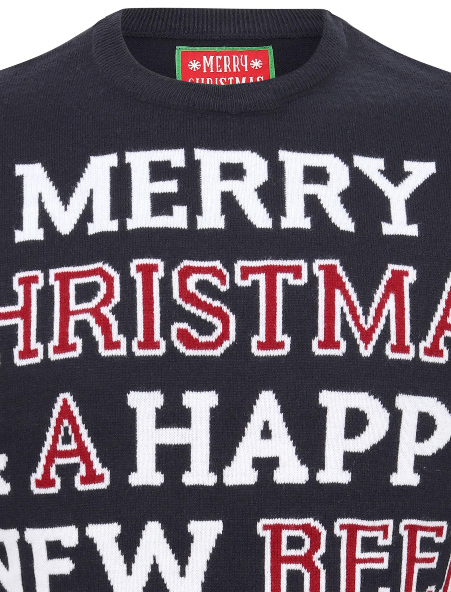 Feliz-Navidad-Para-Hombre-Novedad-Navidad-Sueter-Santa-Elfo-Reno-divertido-Cerveza miniatura 17