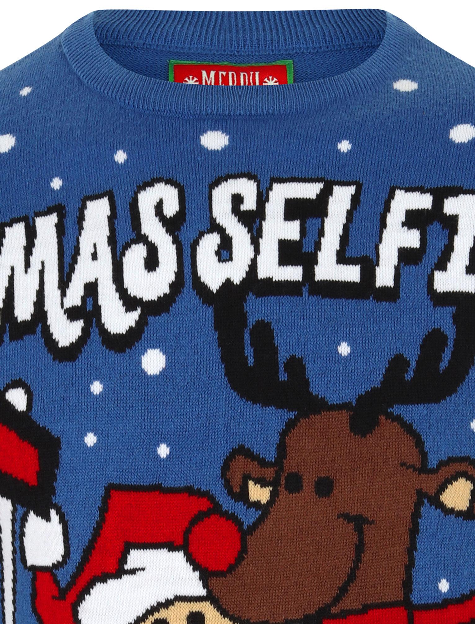 Feliz-Navidad-Para-Hombre-Novedad-Navidad-Sueter-Santa-Elfo-Reno-divertido-Cerveza miniatura 114