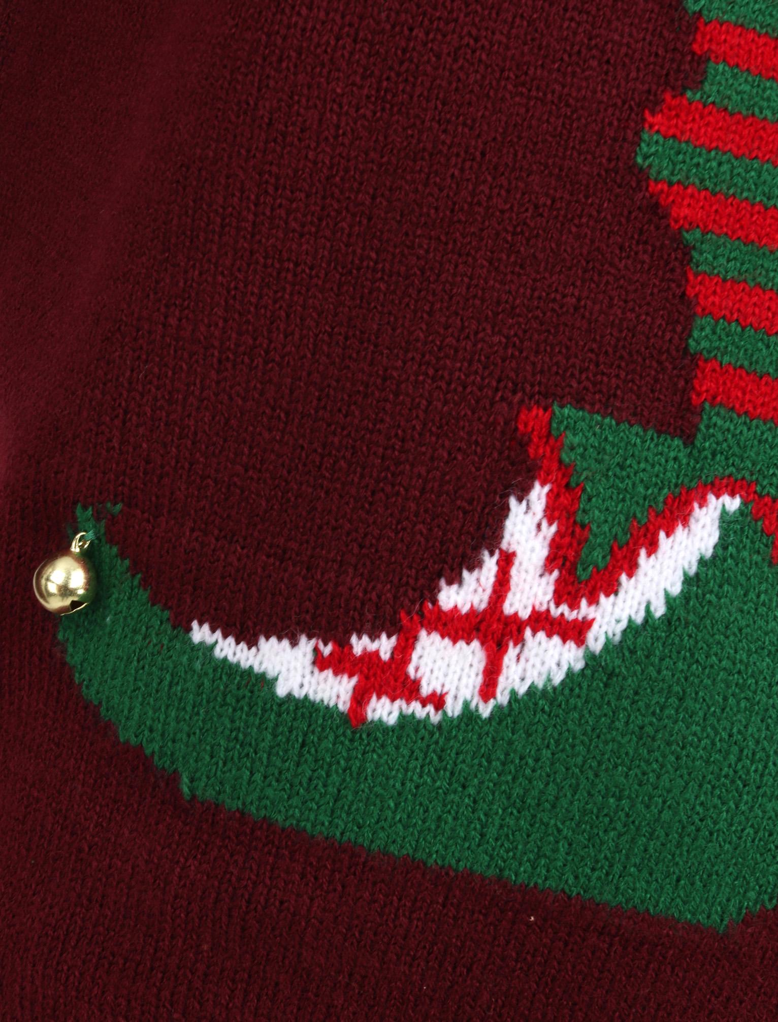Feliz-Navidad-Para-Hombre-Novedad-Navidad-Sueter-Santa-Elfo-Reno-divertido-Cerveza miniatura 91