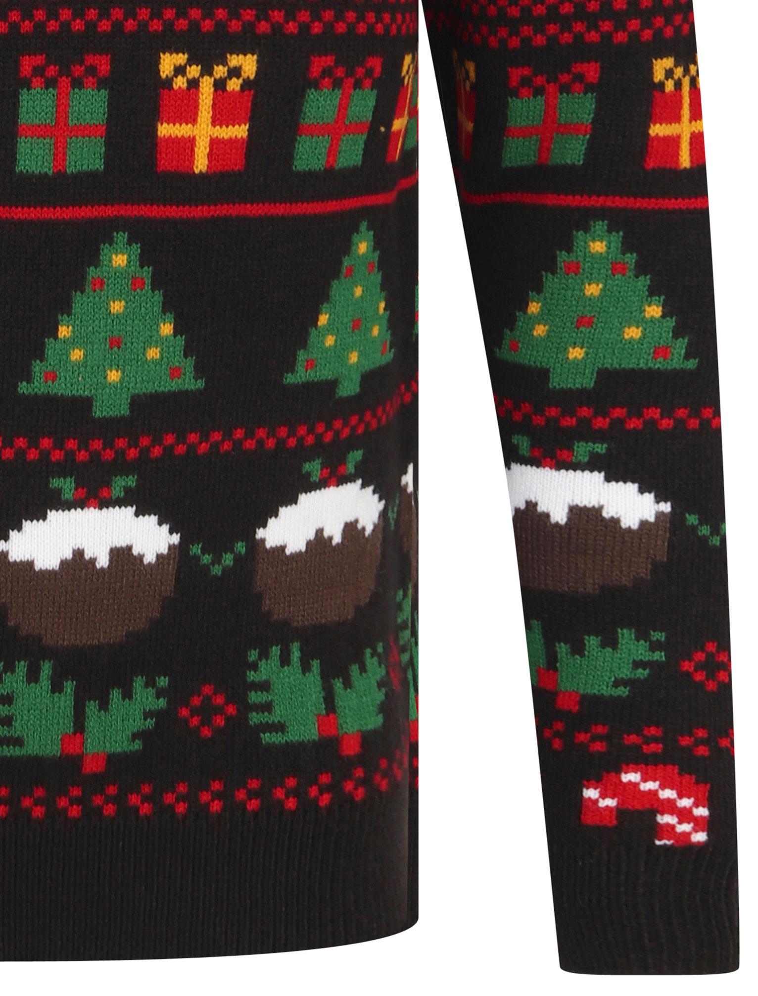 Feliz-Navidad-Para-Hombre-Novedad-Navidad-Sueter-Santa-Elfo-Reno-divertido-Cerveza miniatura 5