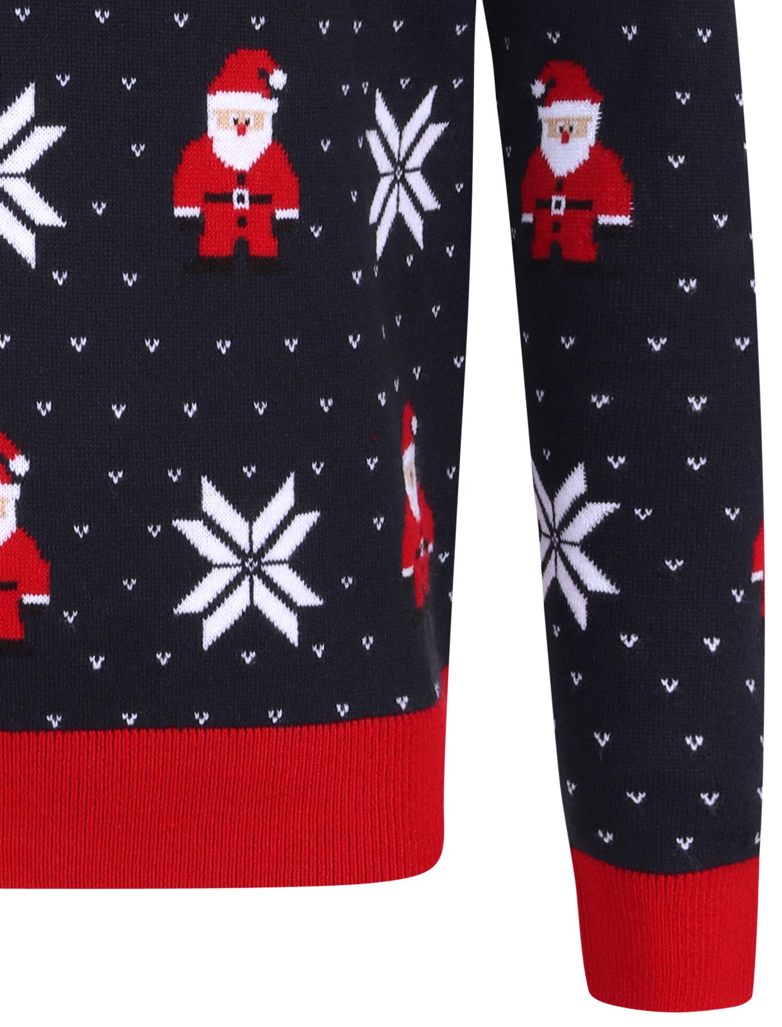 Feliz-Navidad-Para-Hombre-Novedad-Navidad-Sueter-Santa-Elfo-Reno-divertido-Cerveza miniatura 72