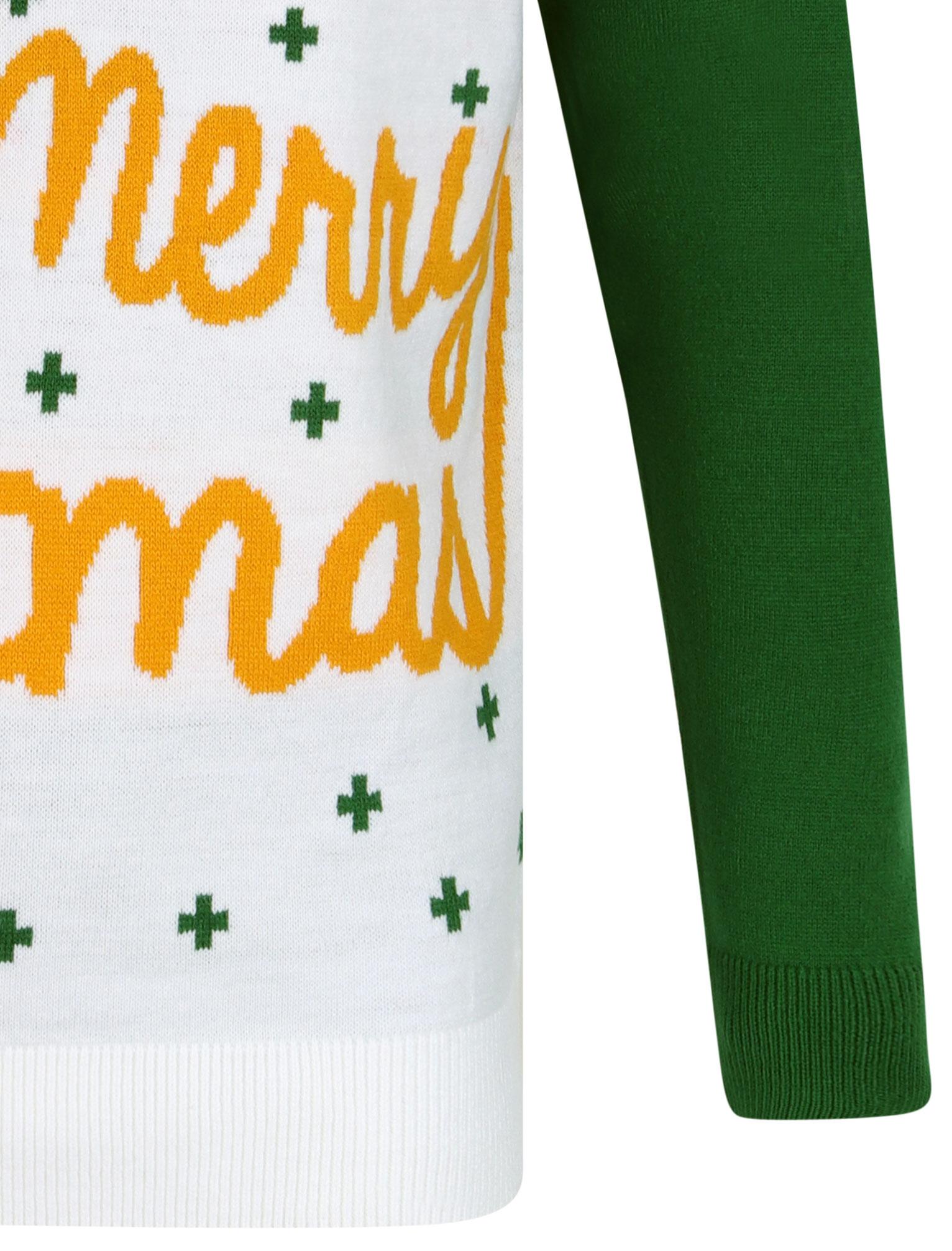 Feliz-Navidad-Para-Hombre-Novedad-Navidad-Sueter-Santa-Elfo-Reno-divertido-Cerveza miniatura 43