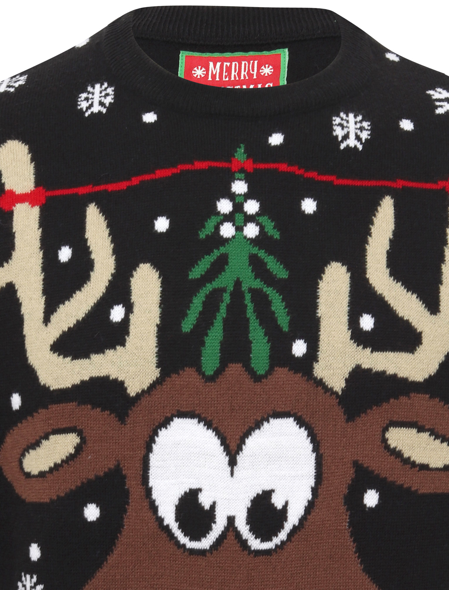 Feliz-Navidad-Para-Hombre-Novedad-Navidad-Sueter-Santa-Elfo-Reno-divertido-Cerveza miniatura 67