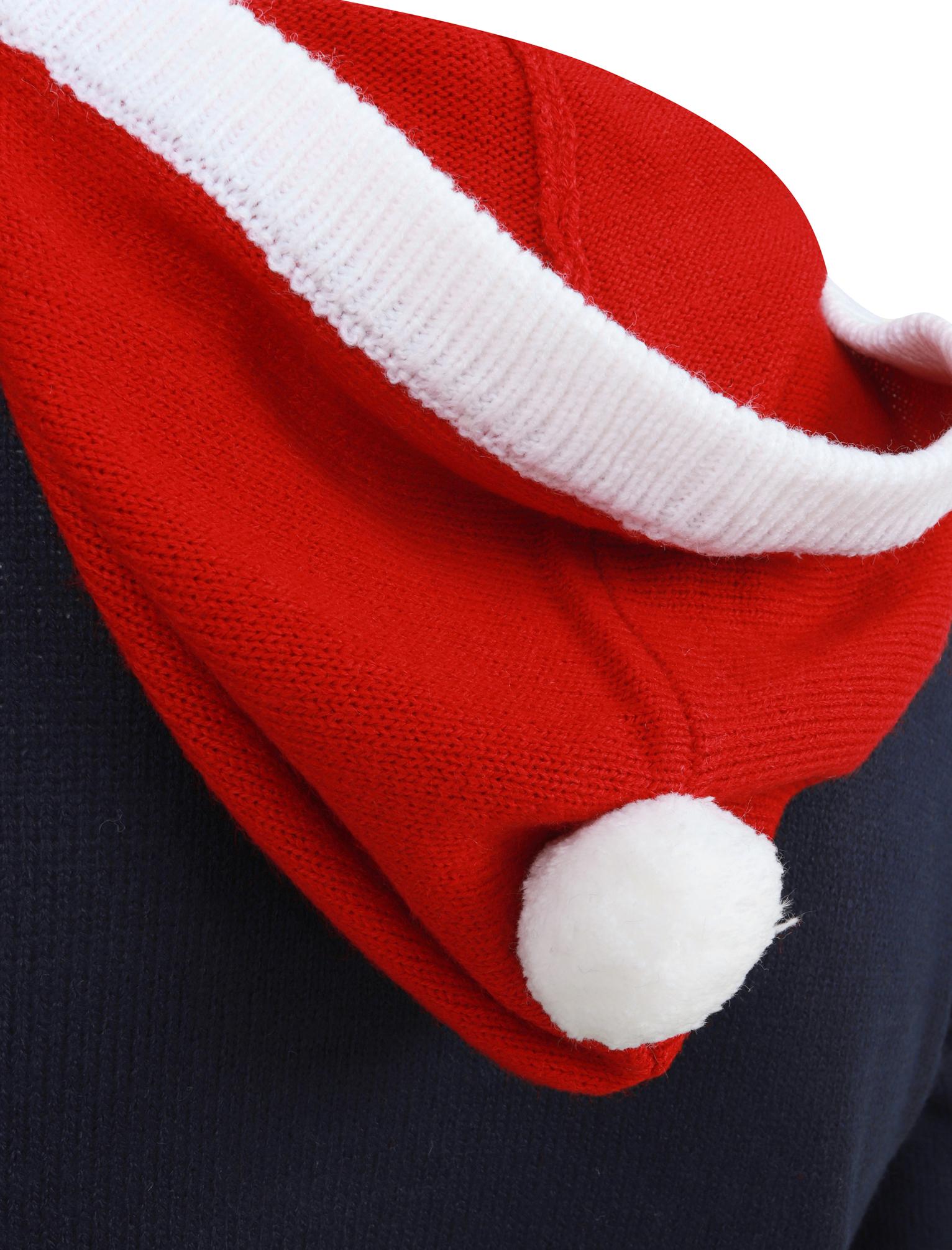 Feliz-Navidad-Para-Hombre-Novedad-Navidad-Sueter-Santa-Elfo-Reno-divertido-Cerveza miniatura 81