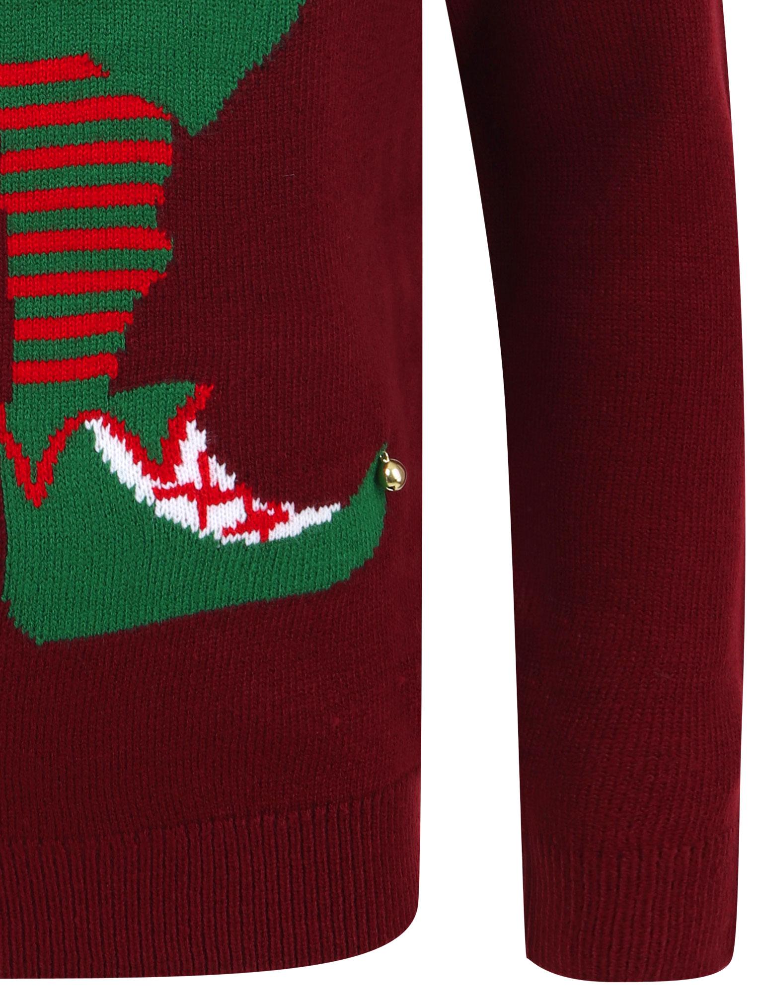 Feliz-Navidad-Para-Hombre-Novedad-Navidad-Sueter-Santa-Elfo-Reno-divertido-Cerveza miniatura 90