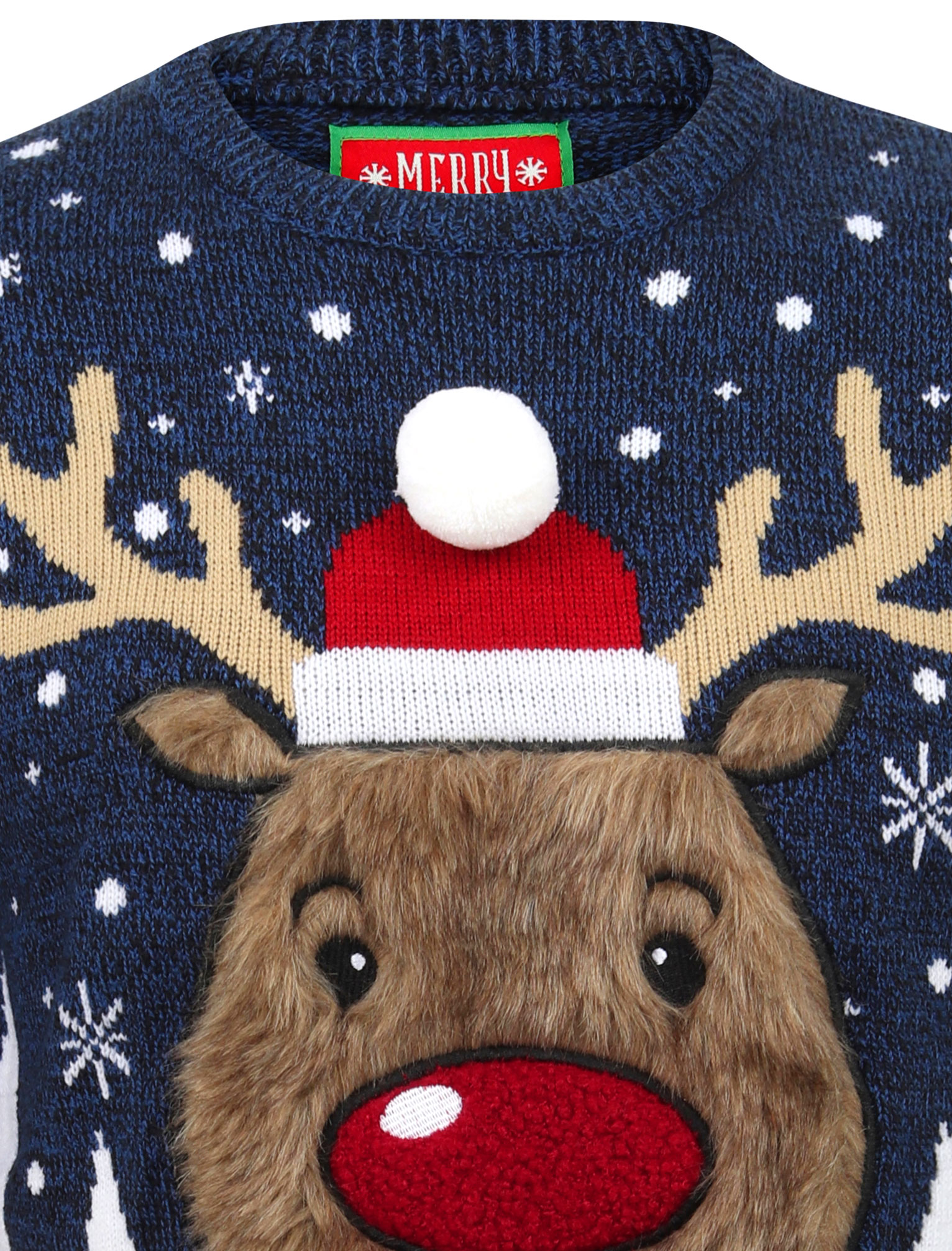 Feliz-Navidad-Para-Hombre-Novedad-Navidad-Sueter-Santa-Elfo-Reno-divertido-Cerveza miniatura 106