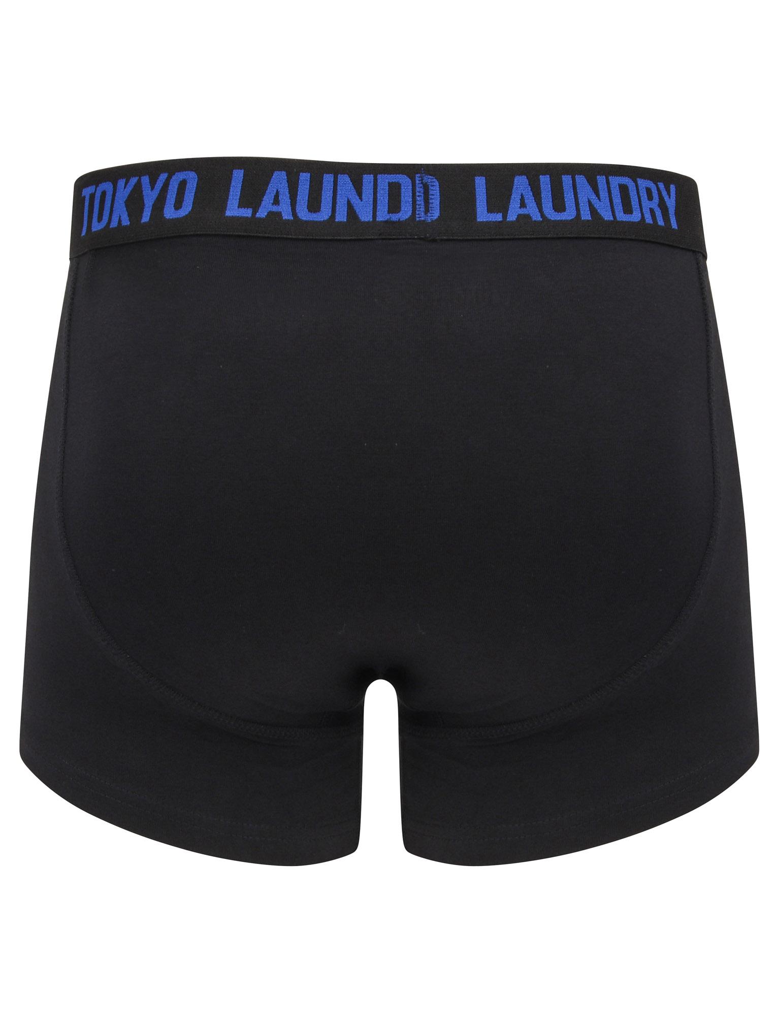 New-Mens-Tokyo-Laundry-2-Pack-Cotton-Rich-Boxer-Shorts-Set-Trunks-Size-S-XXL thumbnail 74