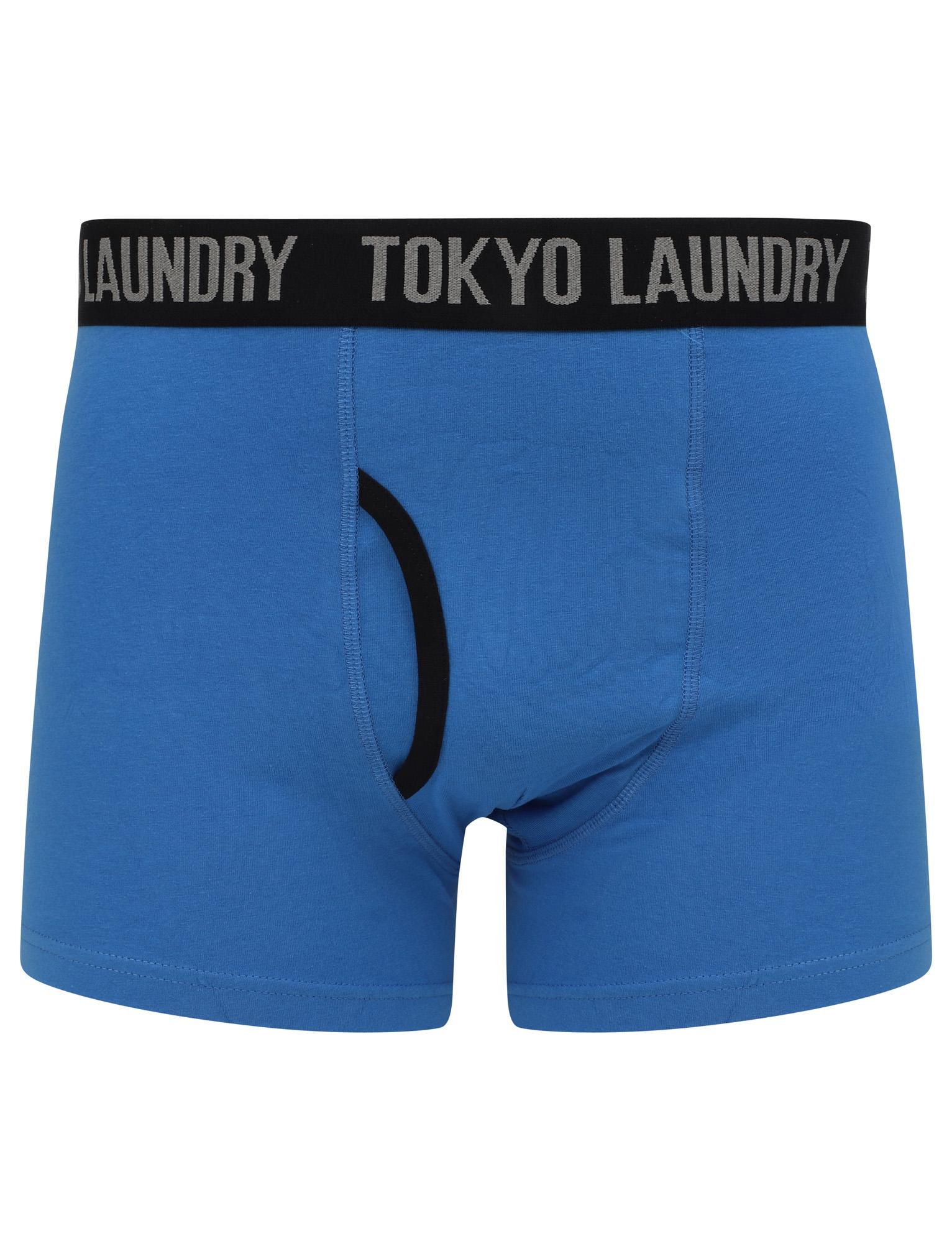 New-Mens-Tokyo-Laundry-2-Pack-Cotton-Rich-Boxer-Shorts-Set-Trunks-Size-S-XXL thumbnail 5