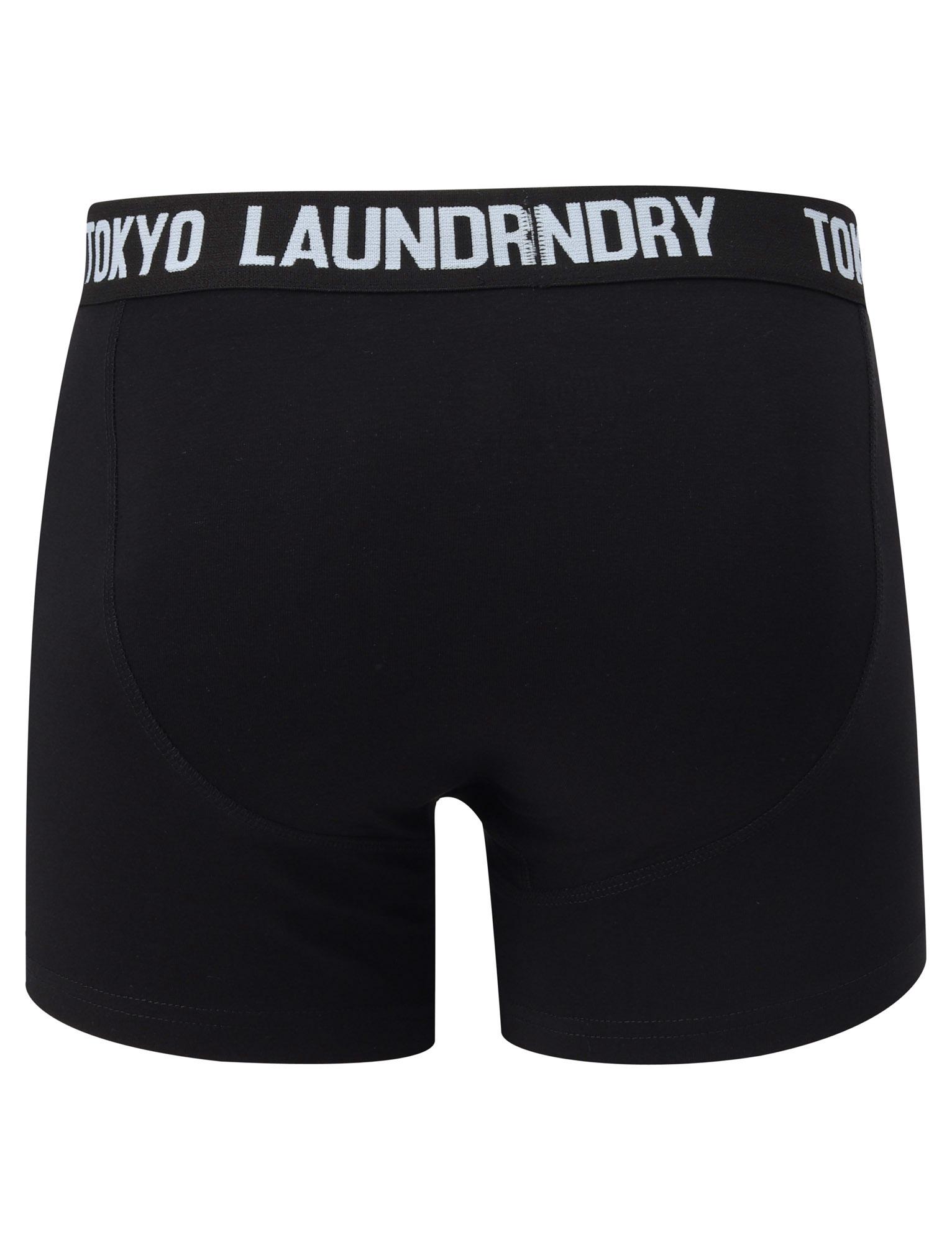 New-Mens-Tokyo-Laundry-2-Pack-Cotton-Rich-Boxer-Shorts-Set-Trunks-Size-S-XXL thumbnail 61