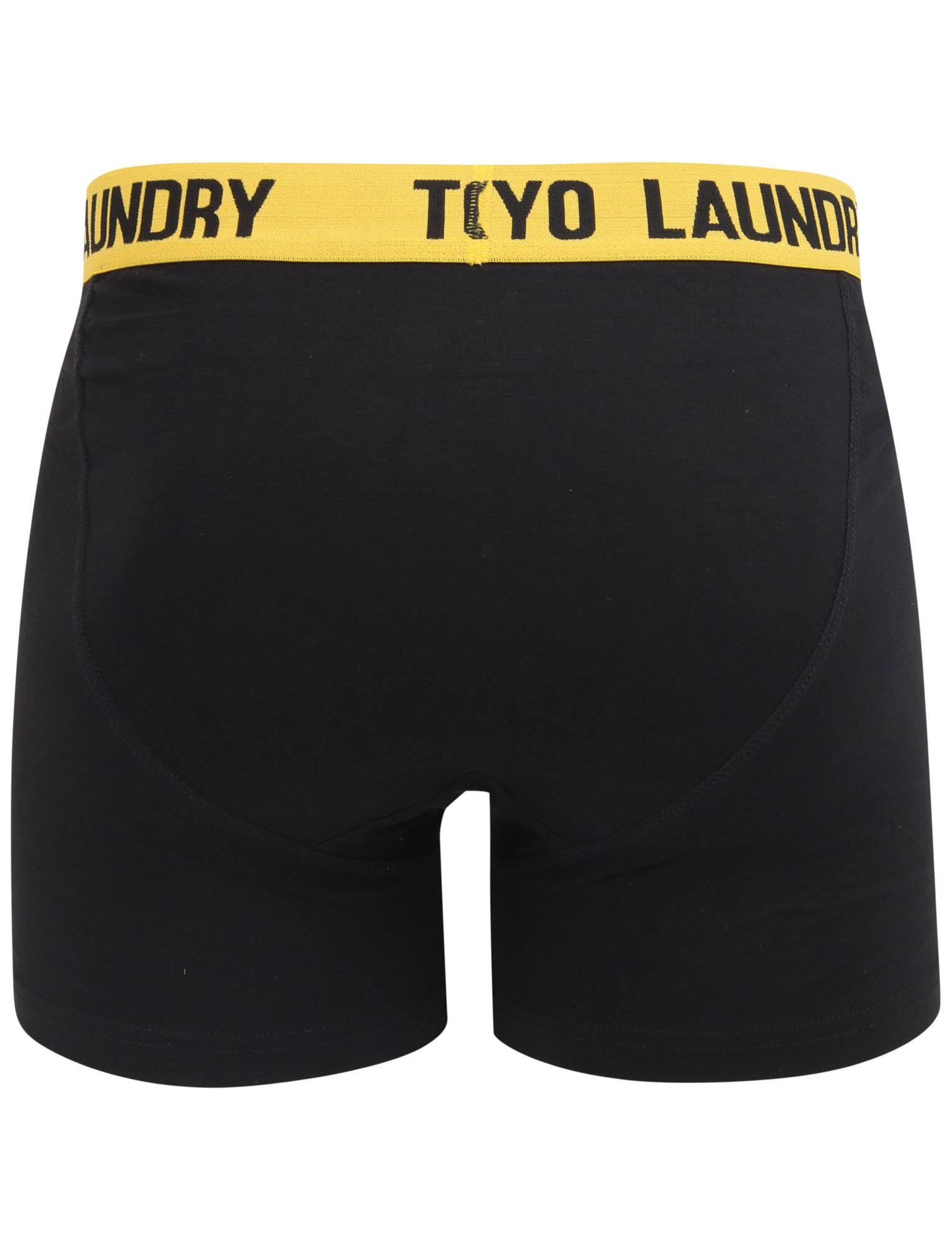New-Mens-Tokyo-Laundry-2-Pack-Buttoned-Cotton-Rich-Boxer-Shorts-Set-Size-S-XXL thumbnail 19