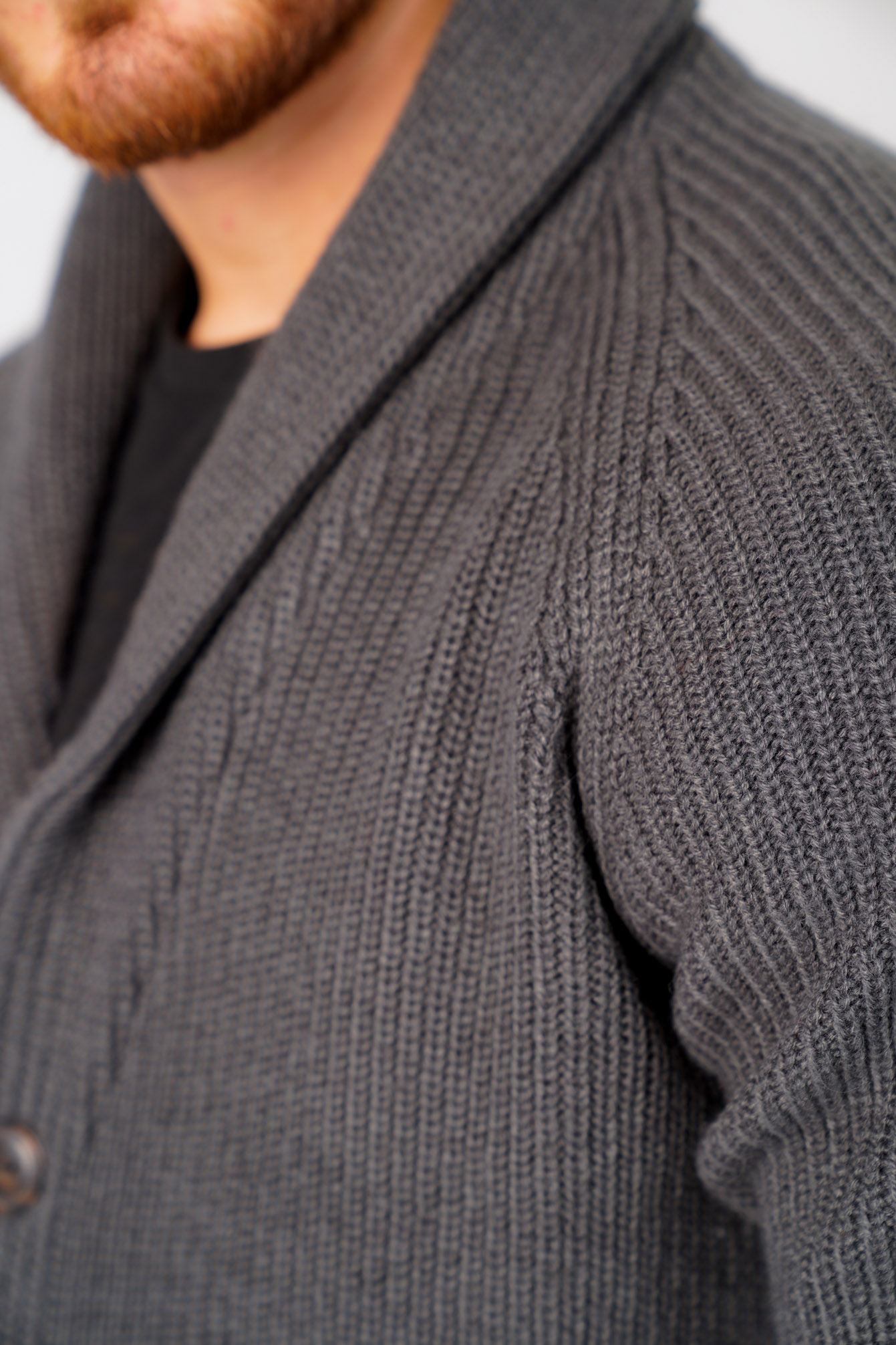 Tokyo-Laundry-Mens-Cardigan-Shawl-Neck-Long-Sleeve-Wool-Blend-Knitted-Button-Up thumbnail 18
