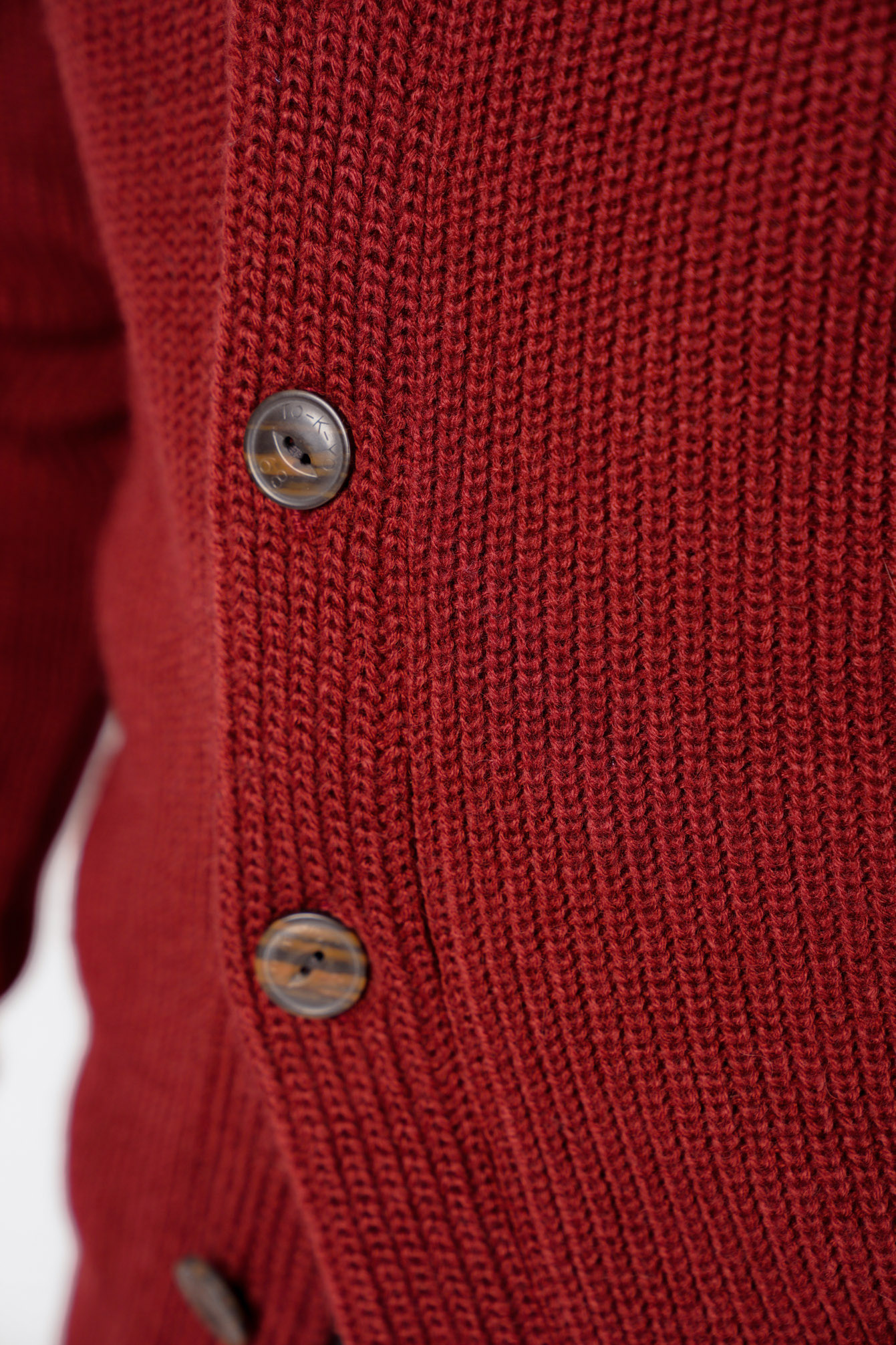 Tokyo-Laundry-Mens-Cardigan-Shawl-Neck-Long-Sleeve-Wool-Blend-Knitted-Button-Up thumbnail 12