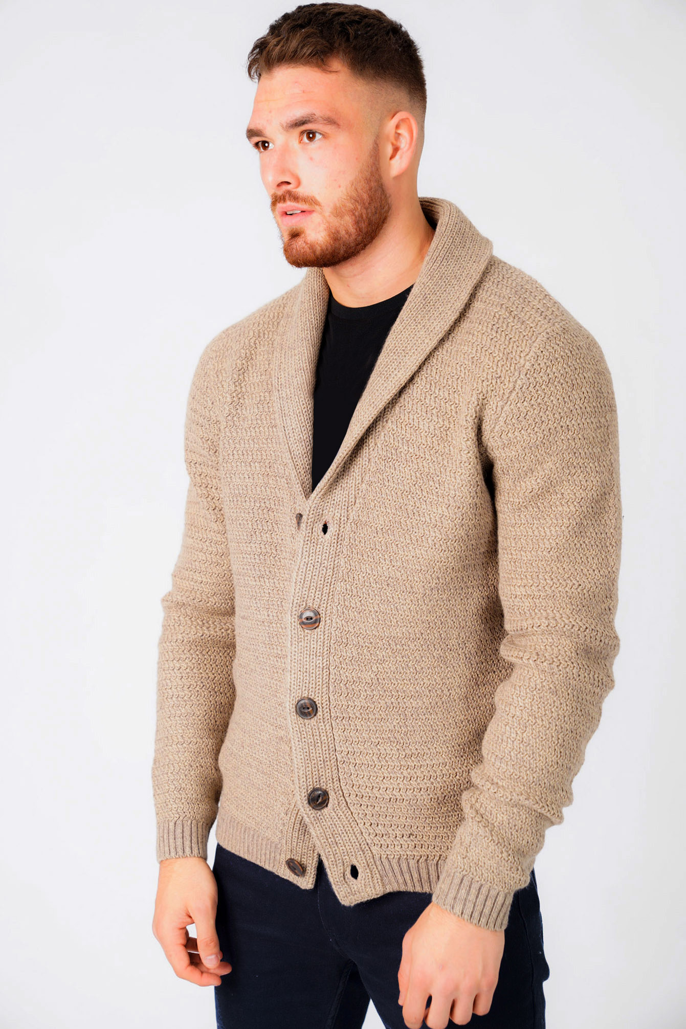 New-Mens-Tokyo-Laundry-Shawl-Neck-Long-Sleeve-Wool-Blend-Cardigans-Size-S-XXL thumbnail 27